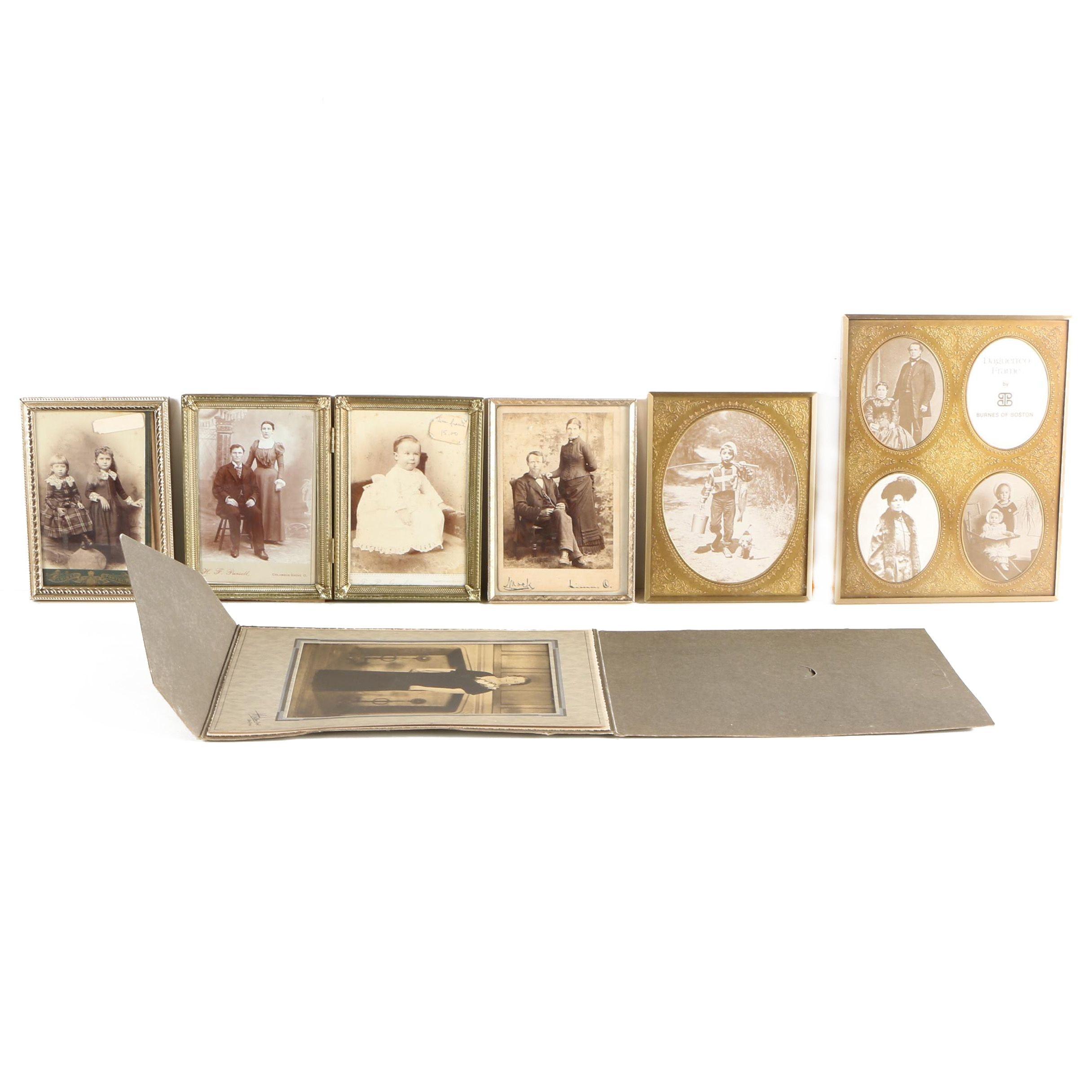 Antique Albumen Photographs and Halftone Prints