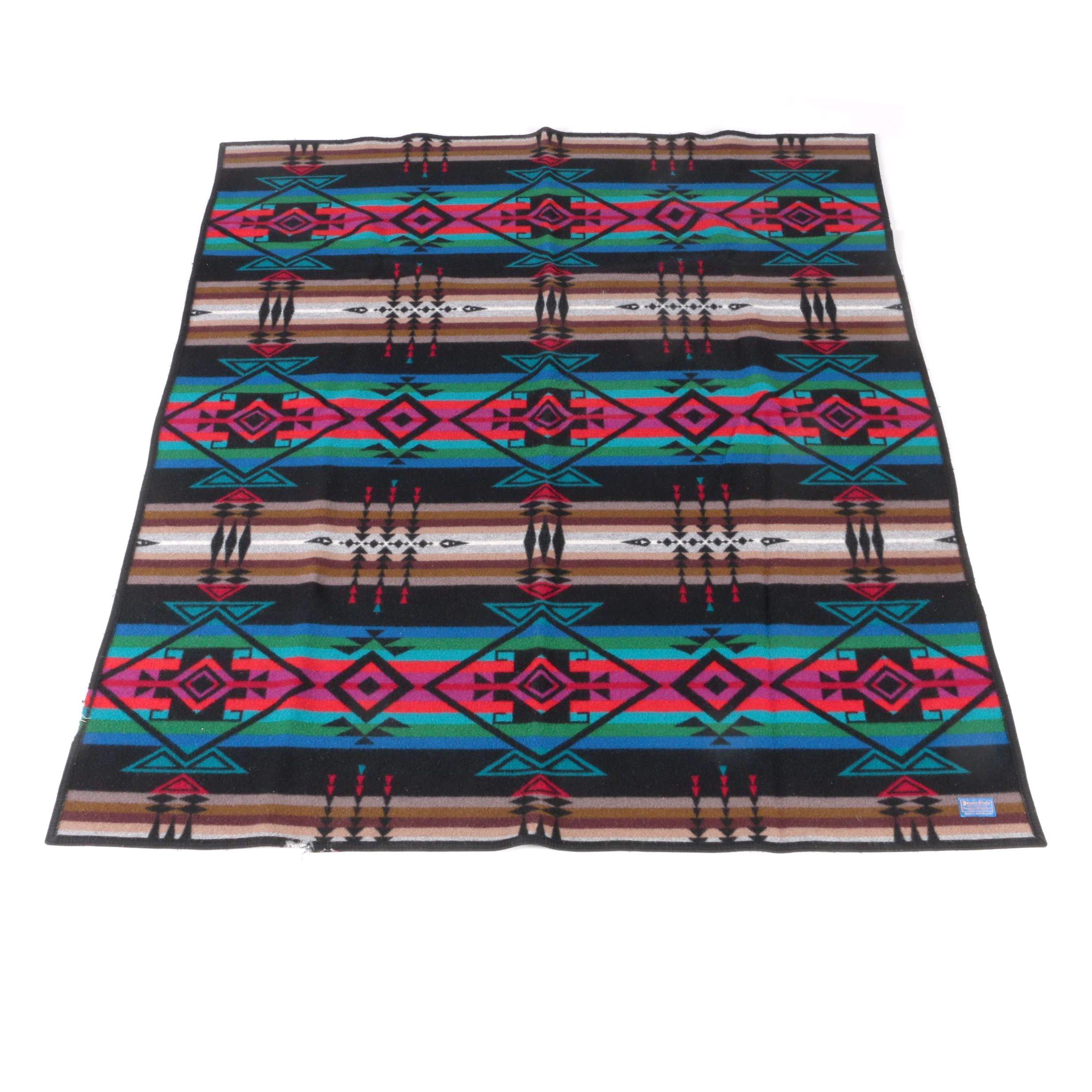 Pendleton Beaver State Southwestern Style Wool Blanket