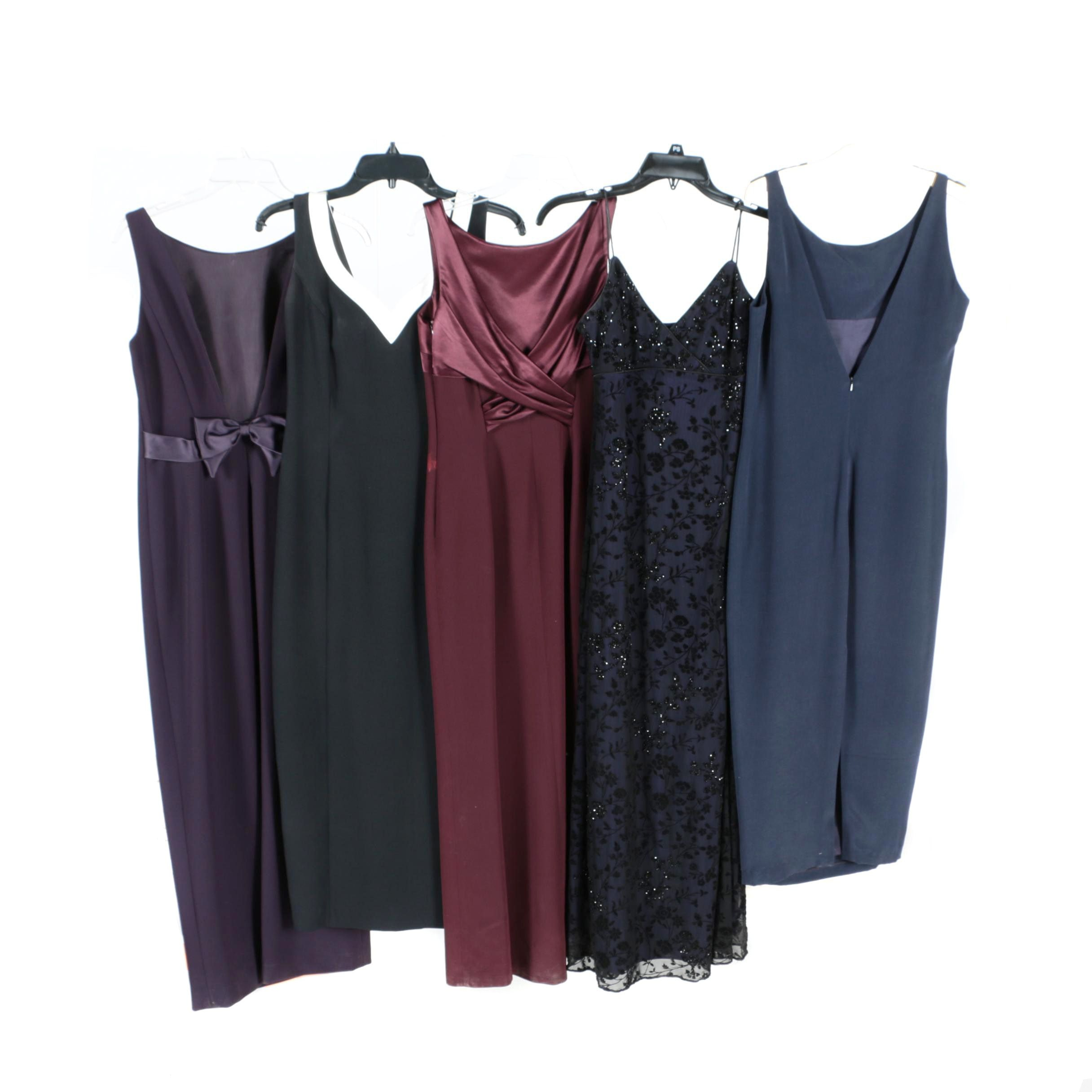 Women's Sleeveless Cocktail Dresses and Gowns Including Tahari