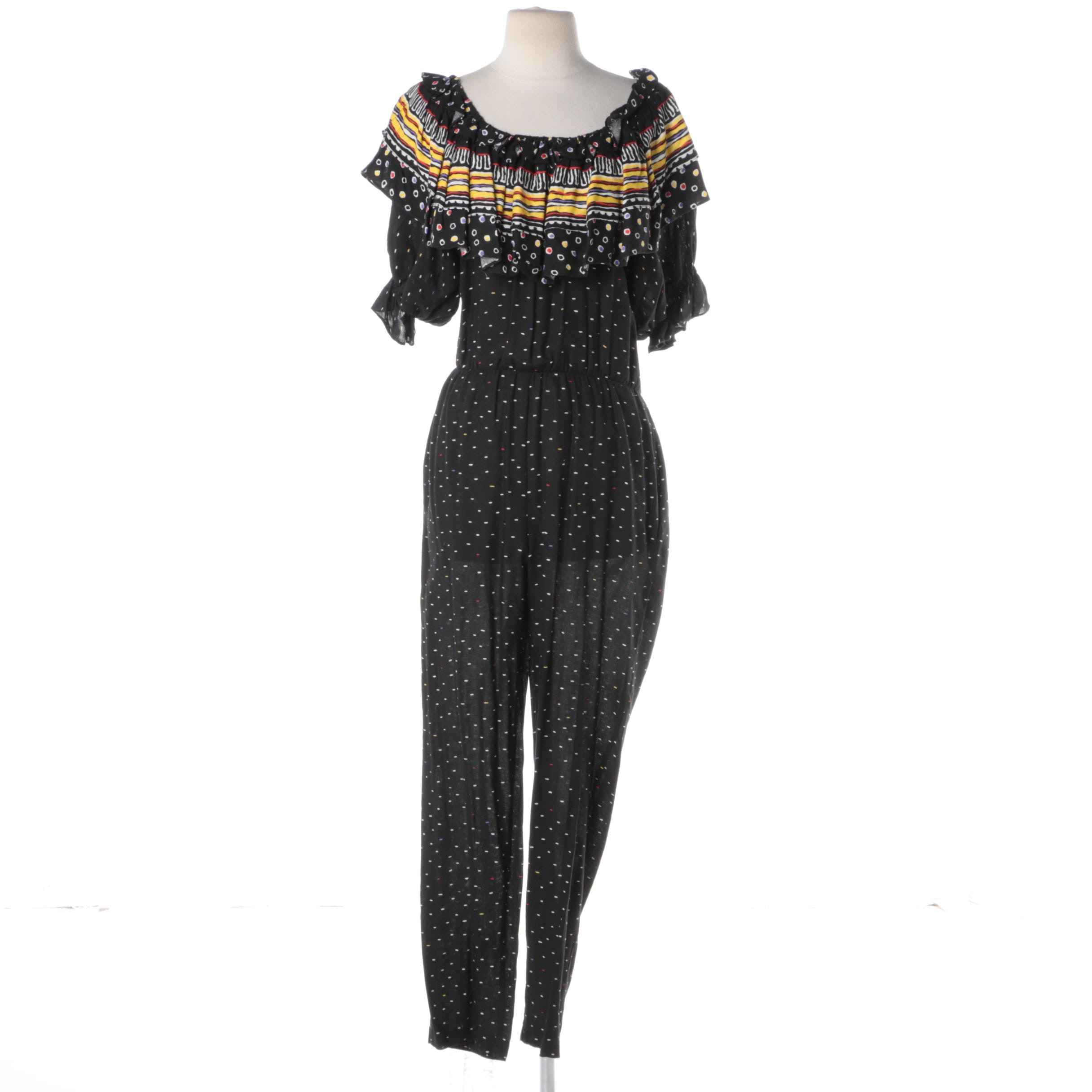 Rothschild of San Francisco Printed Jumpsuit