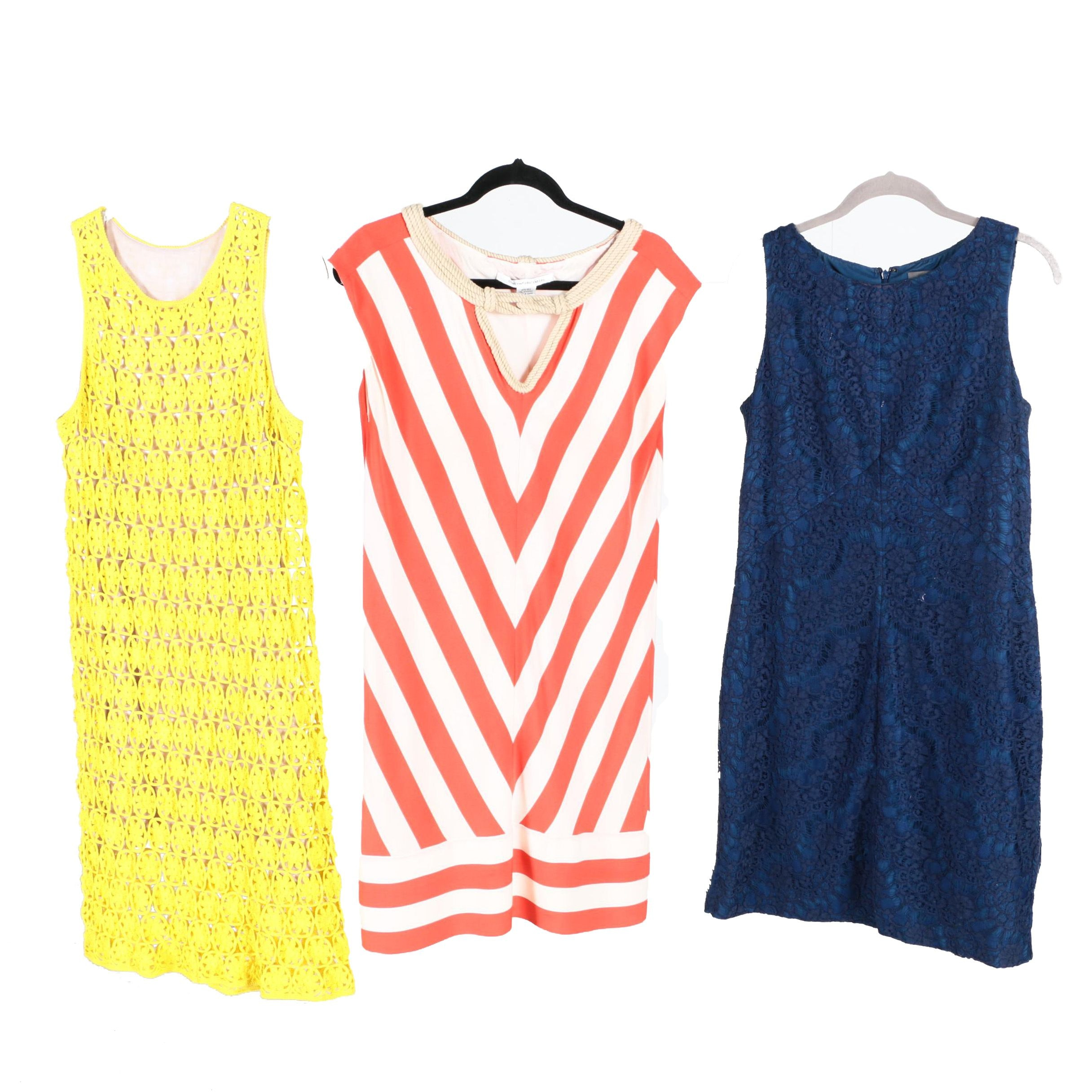 Sleeveless Dresses Featuring Diane von Furstenberg and Vince Camuto