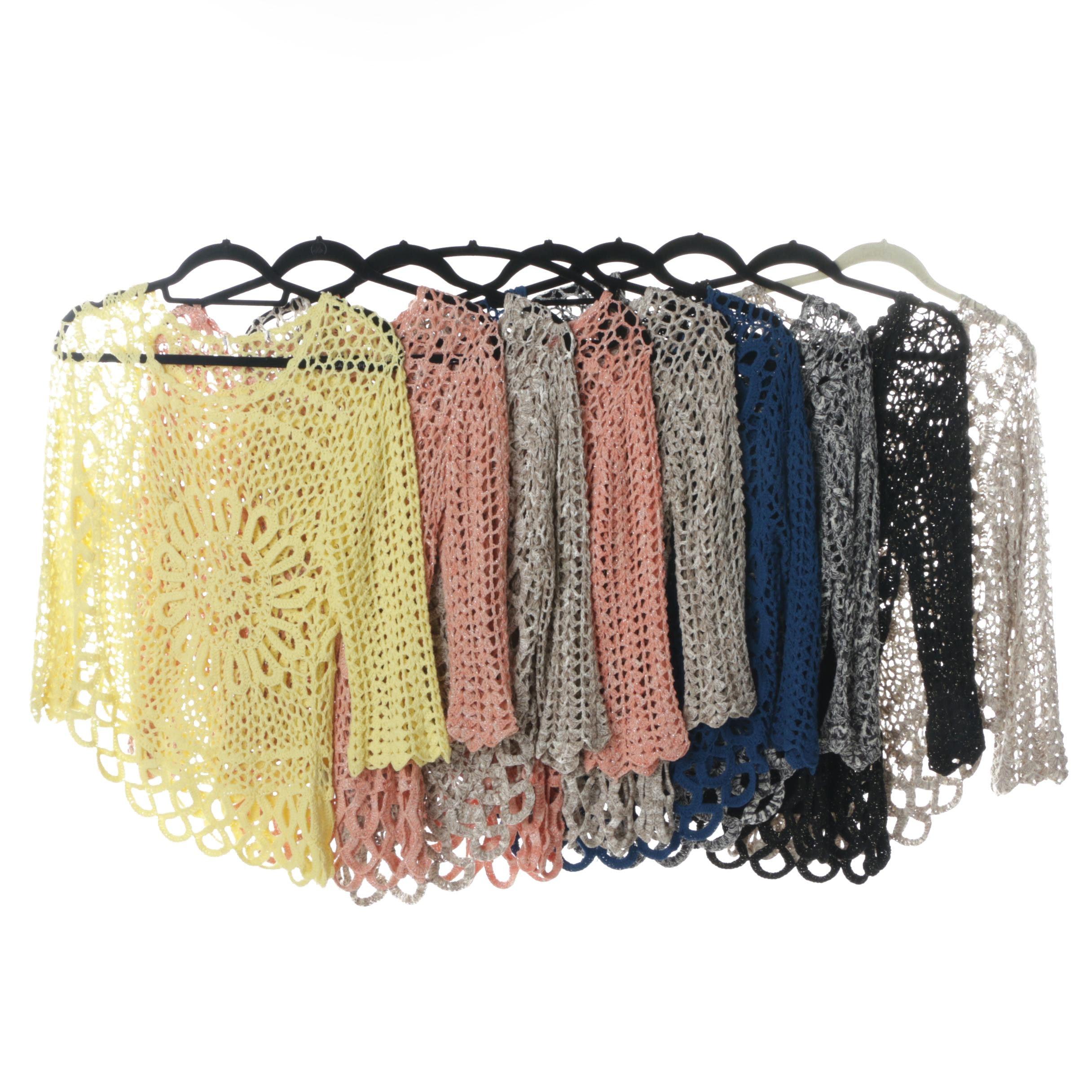 Women's Boston Proper Crocheted Sweater Collection