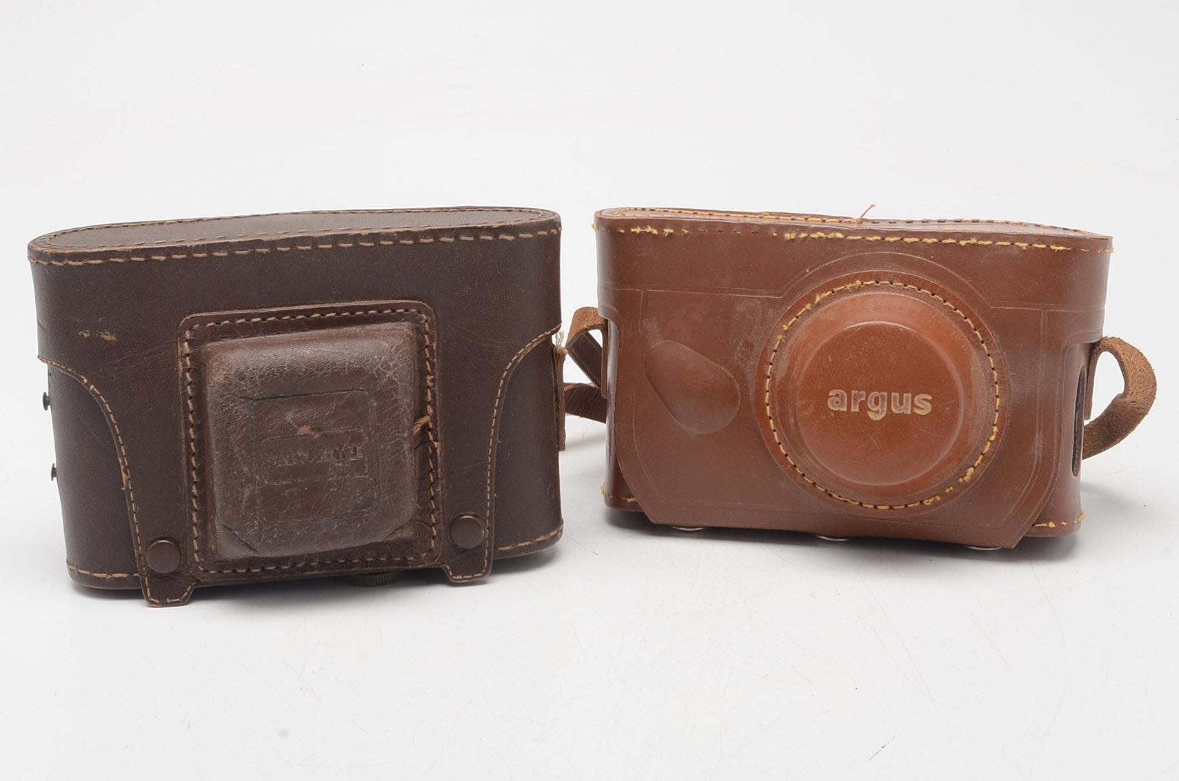 Pair of Mid-Century Cameras