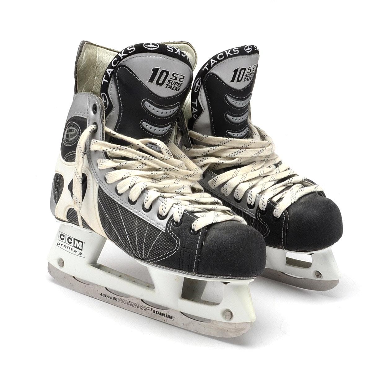 CCM 1052 Super Tacks Hockey Skates Size 8.5