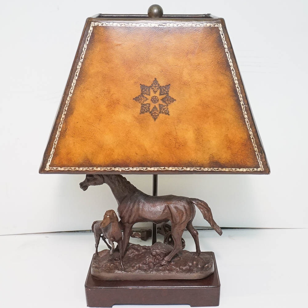 Horse Themed Table Lamp