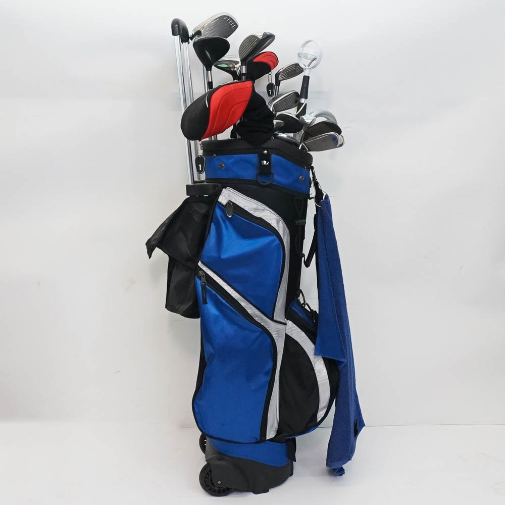 Women's Golf Clubs with Bag Featuring Cleveland Golf