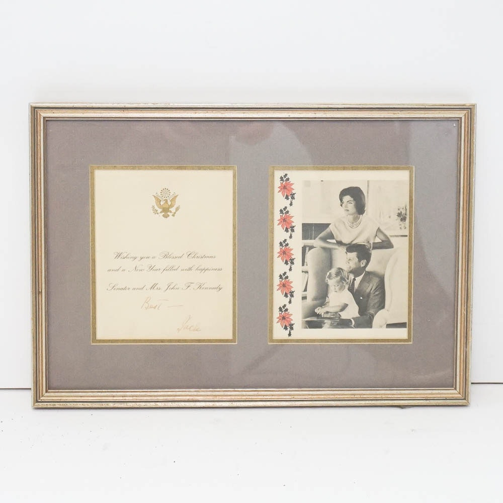 Facsimile John F. Kennedy Autograph and Photograph