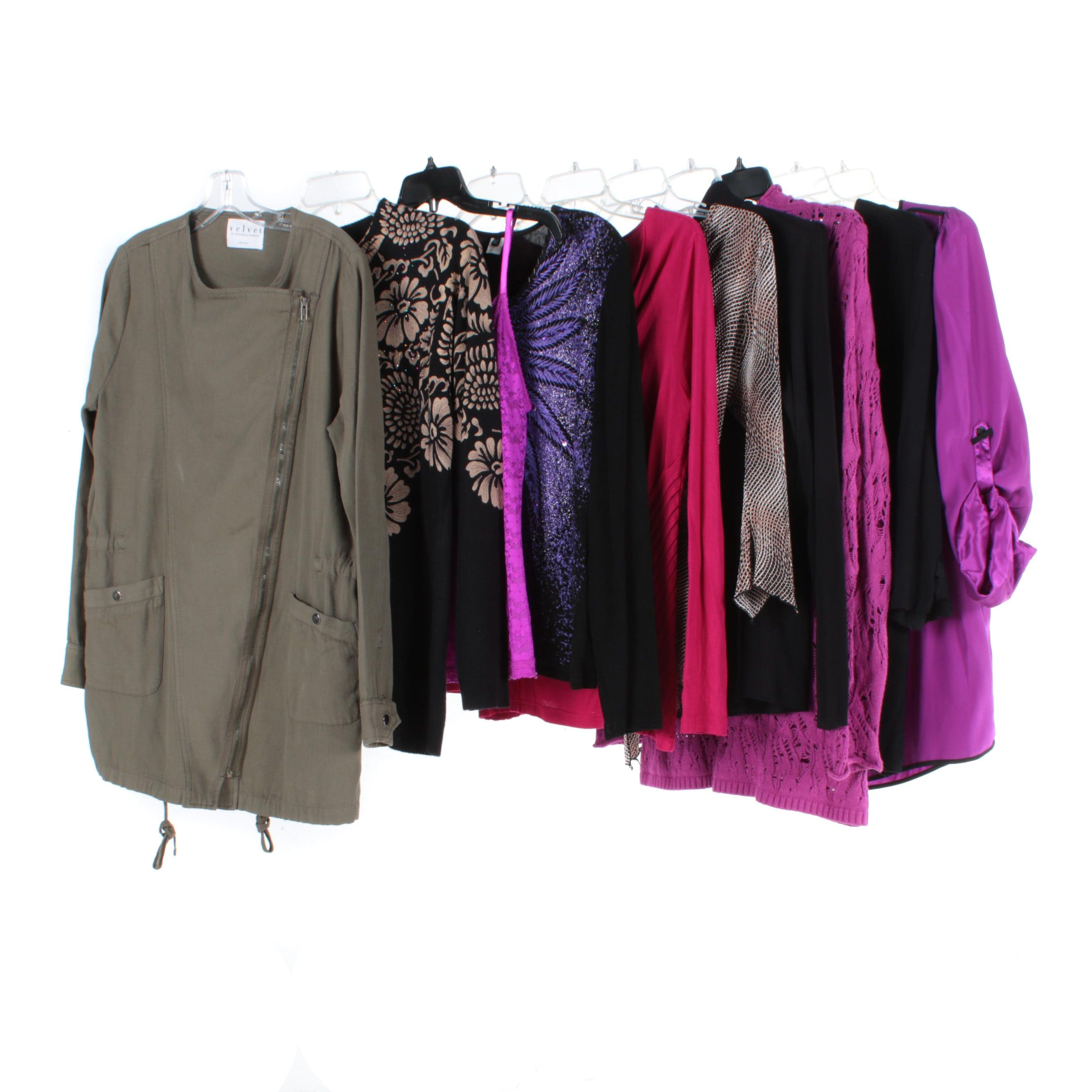 Women's Clothing Including Max Edition