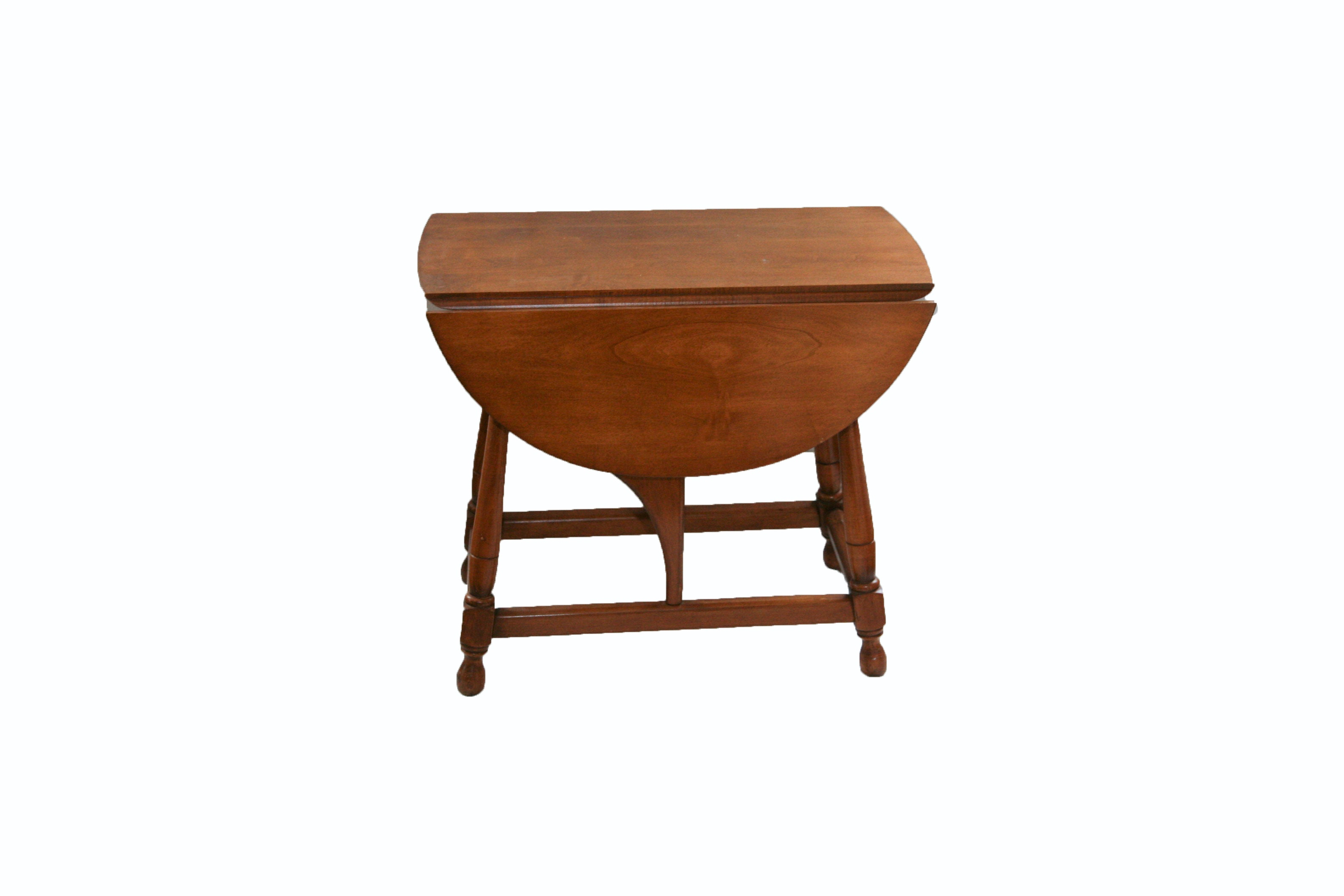 Sheraton Style Drop Leaf Cherry Table