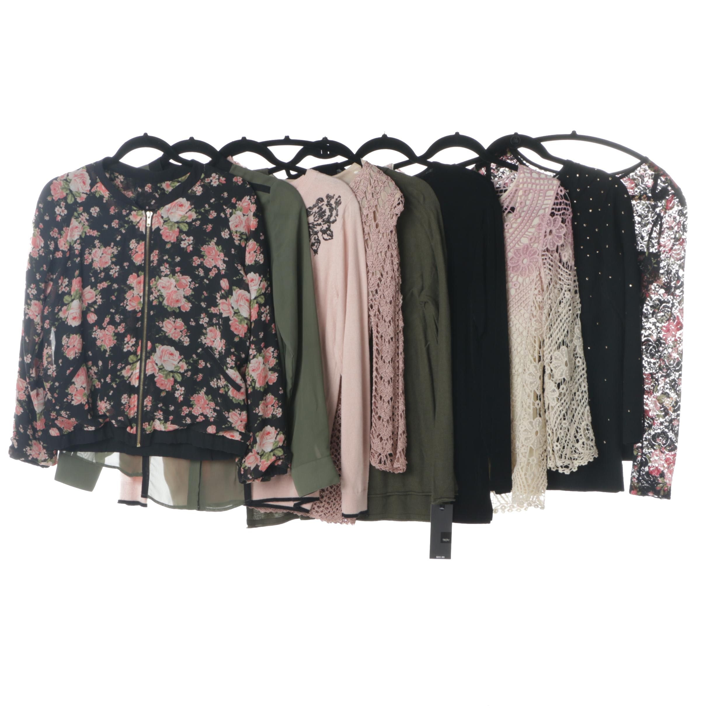 Women's Jackets, Blouses and Tops Including MICHAEL Michael Kors