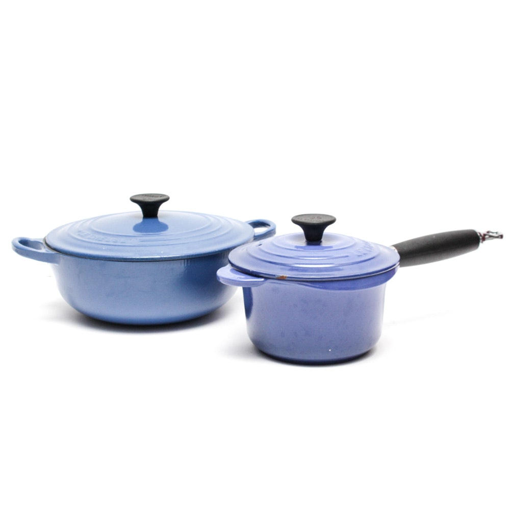 Le Creuset Enameled Cast Iron Cookware in Cobalt