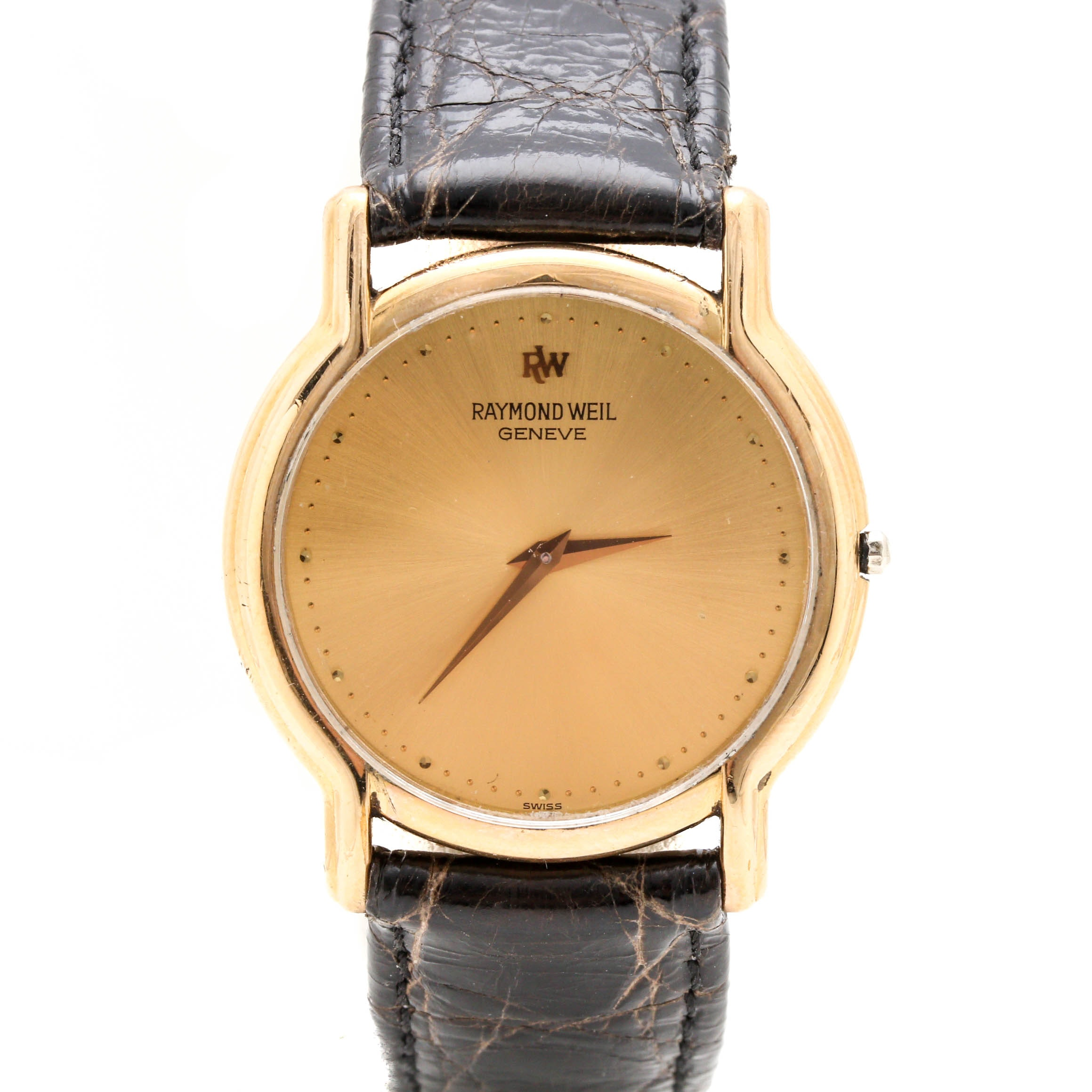 Raymond Weil 18K Gold Plate Wristwatch