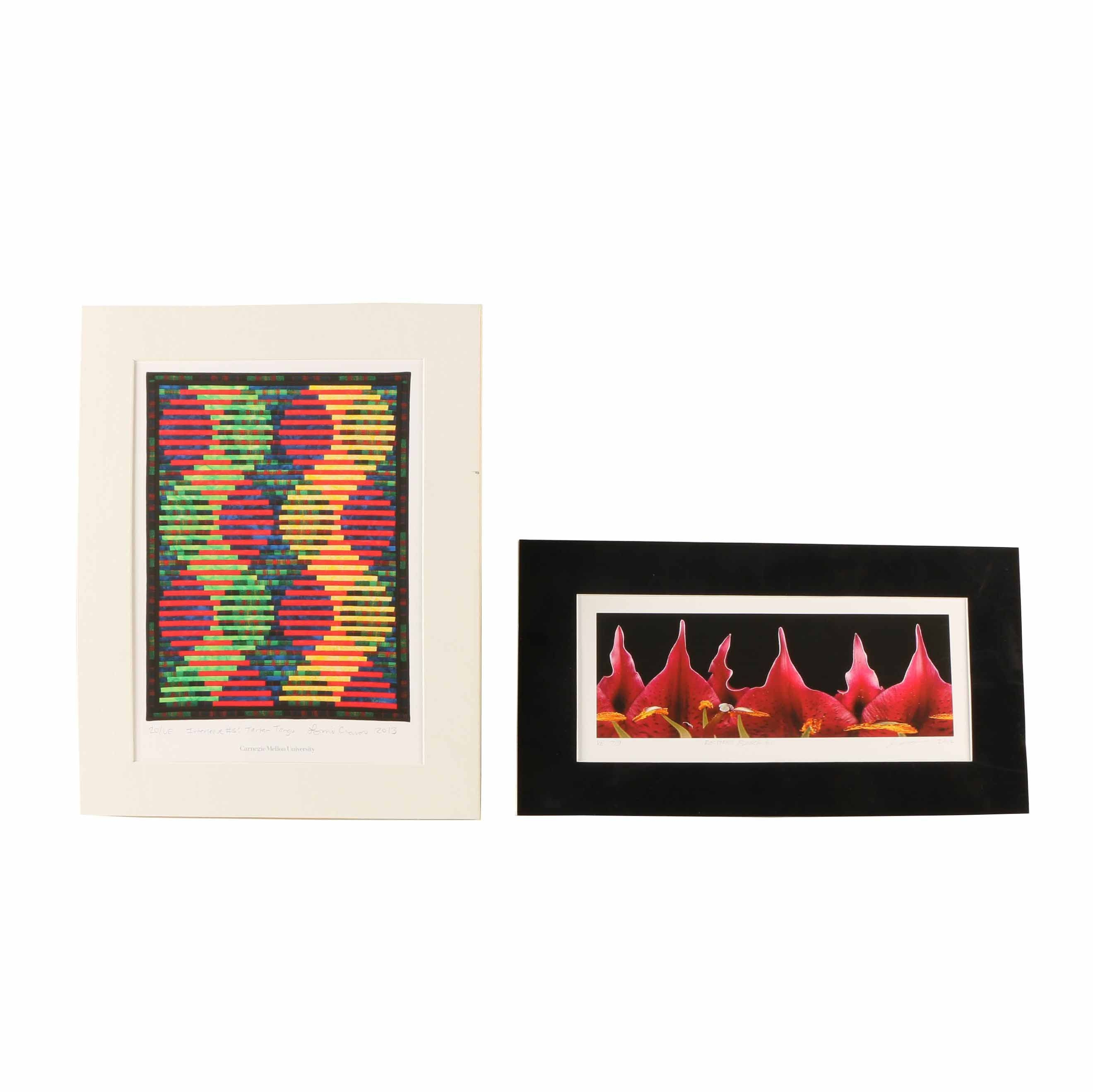 Two Giclée Prints by Carnegie Mellon University Faculty