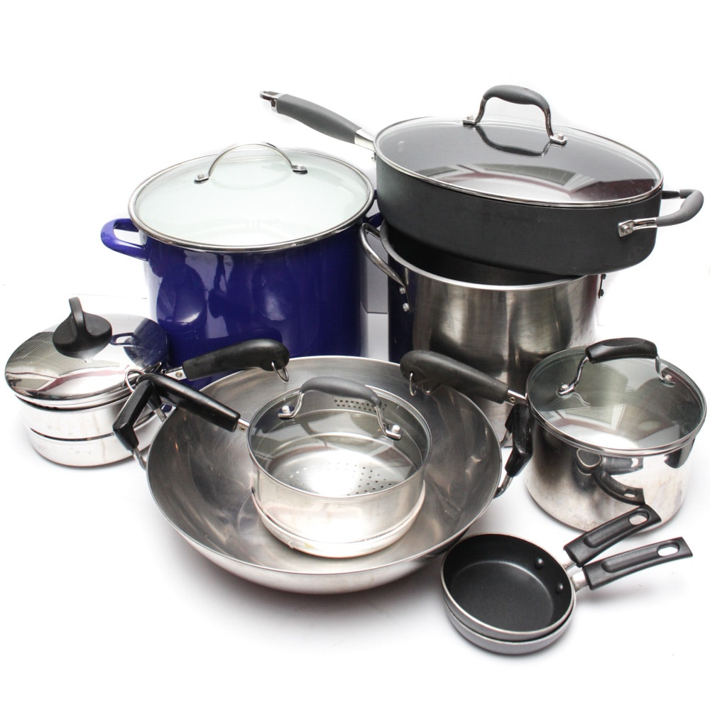 Pots and Pans Featuring Analon