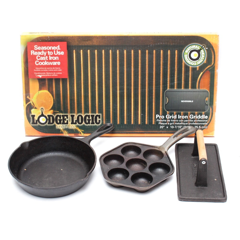 Lodge and More Cast Iron Cookware