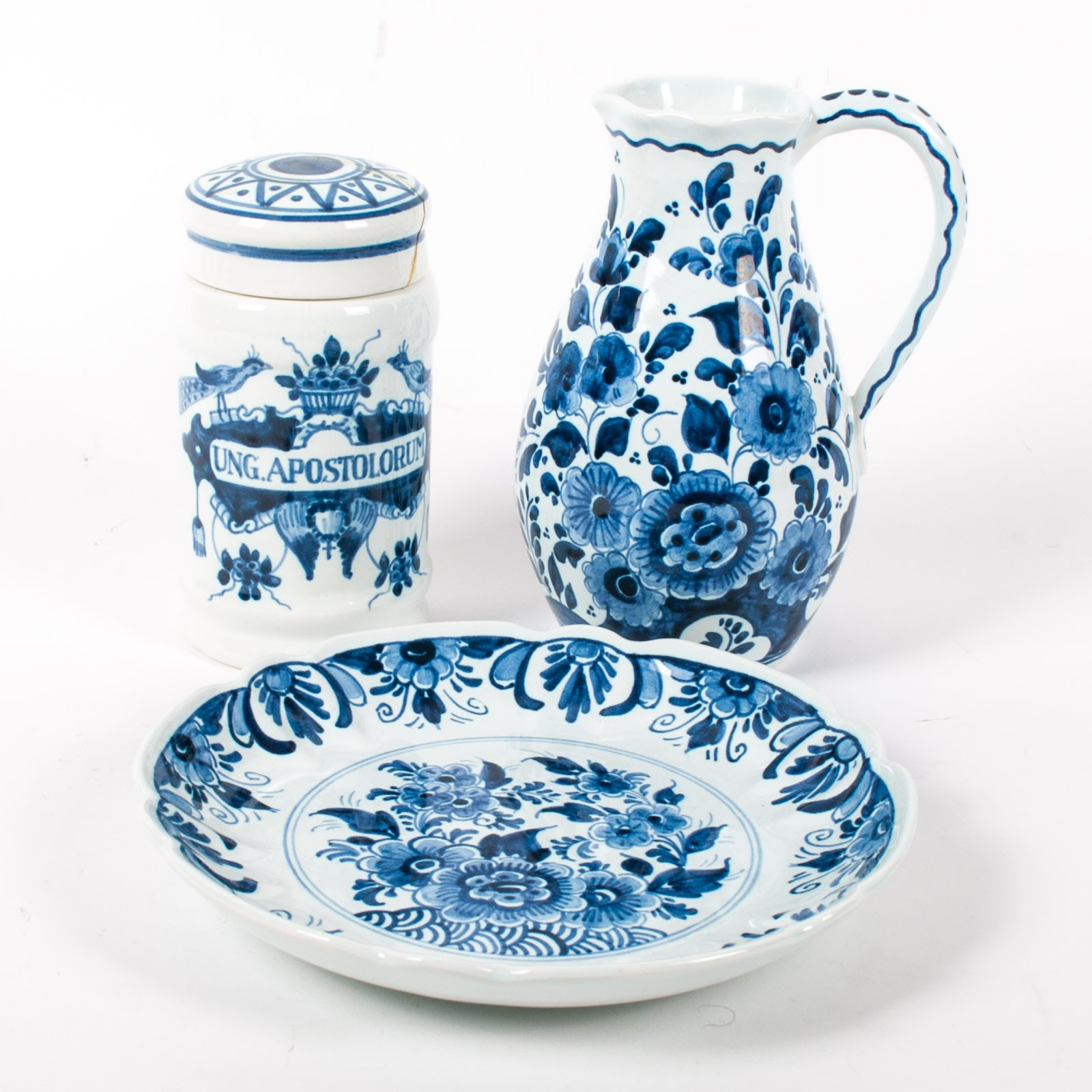 Blue Delft Porcelain