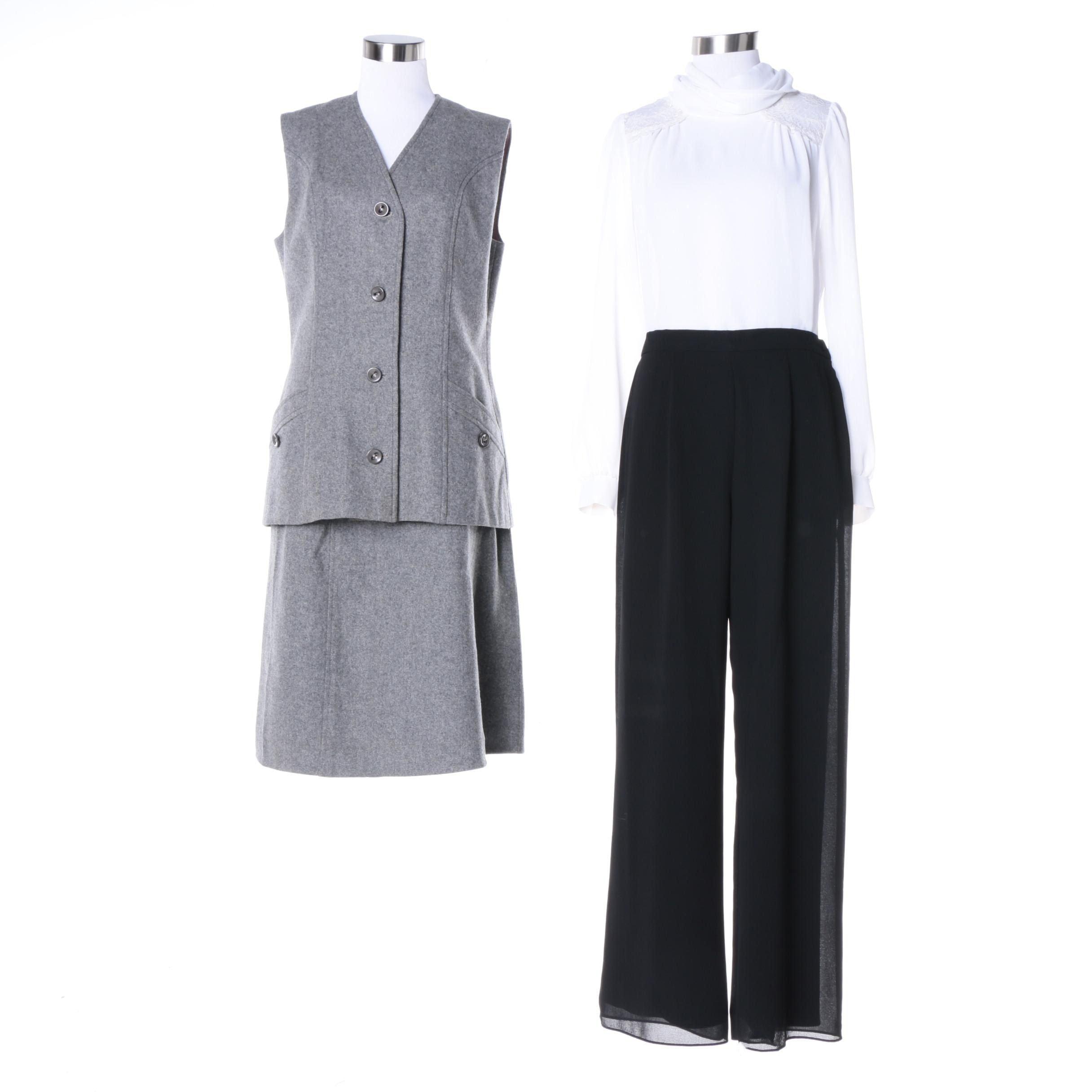 Women's Separates and Windsmoor Skirt Suit