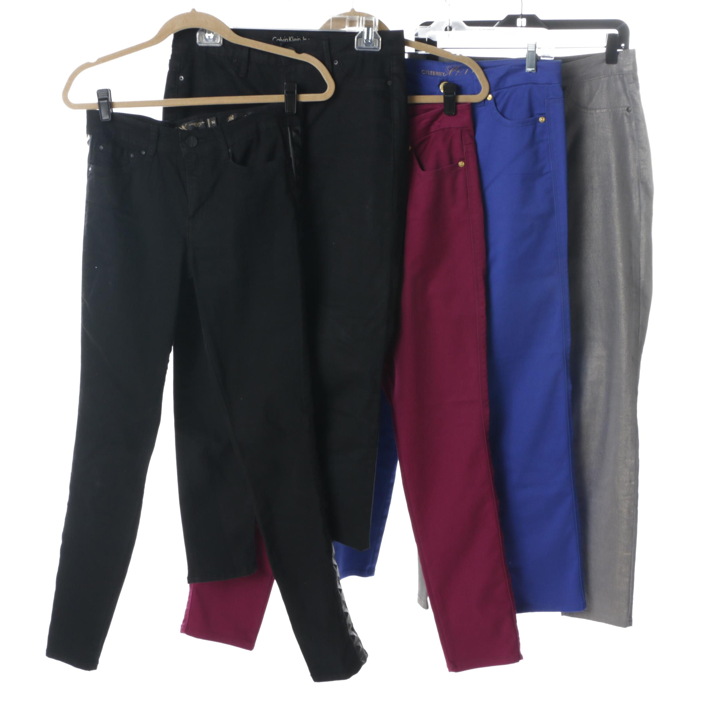 Women's Casual Pants with Calvin Klein