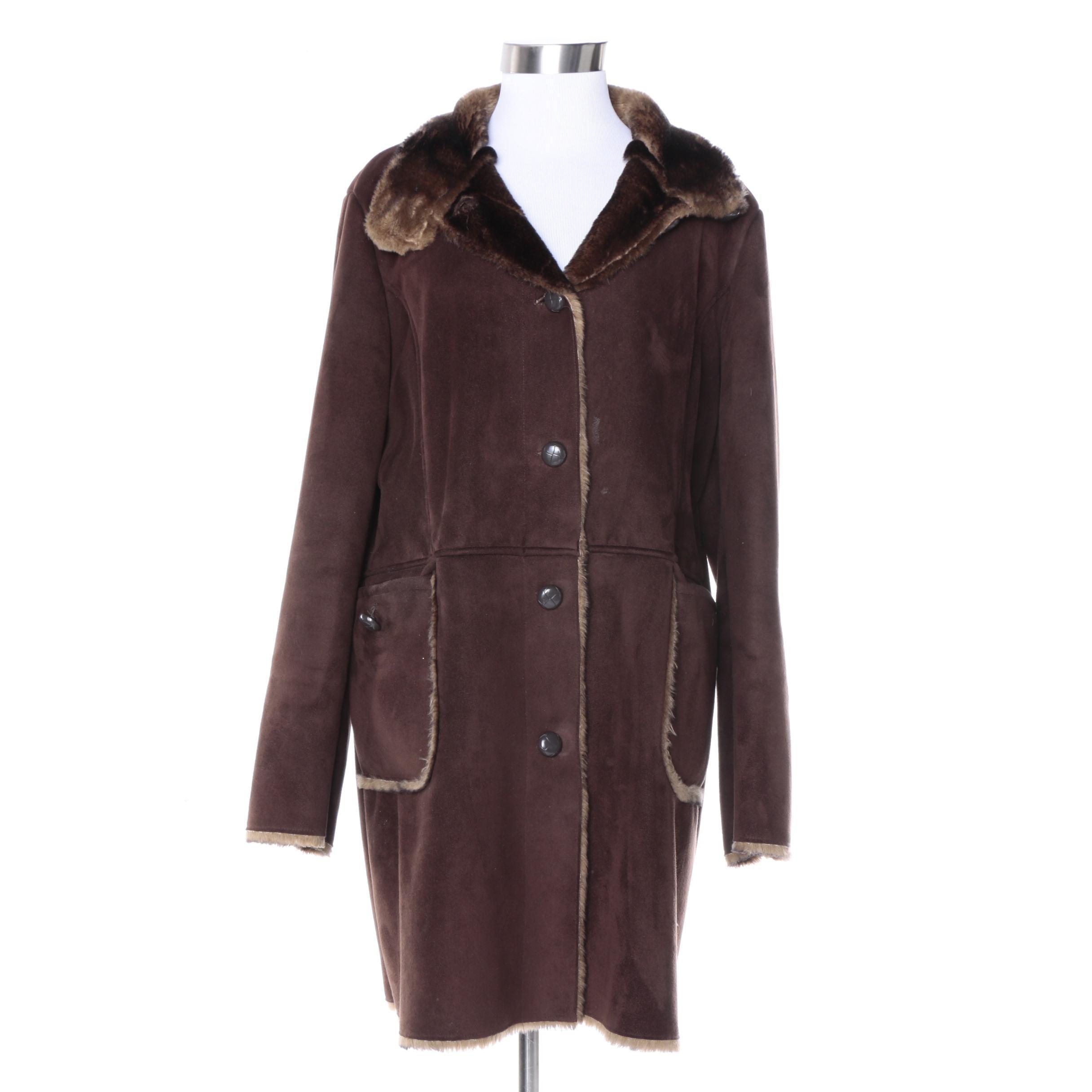 Women's Orvis Faux Shearling Jacket