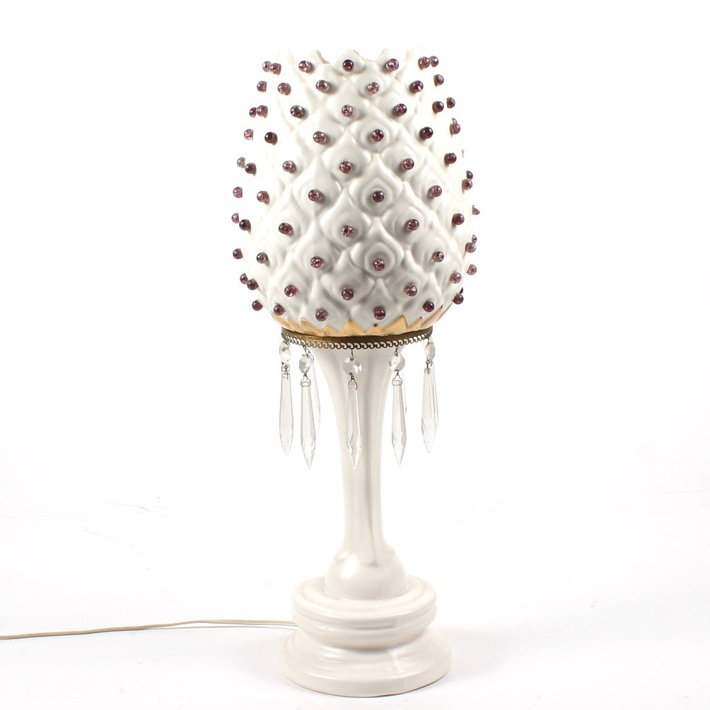 Vintage Hollywood Style Regency Style Lamp