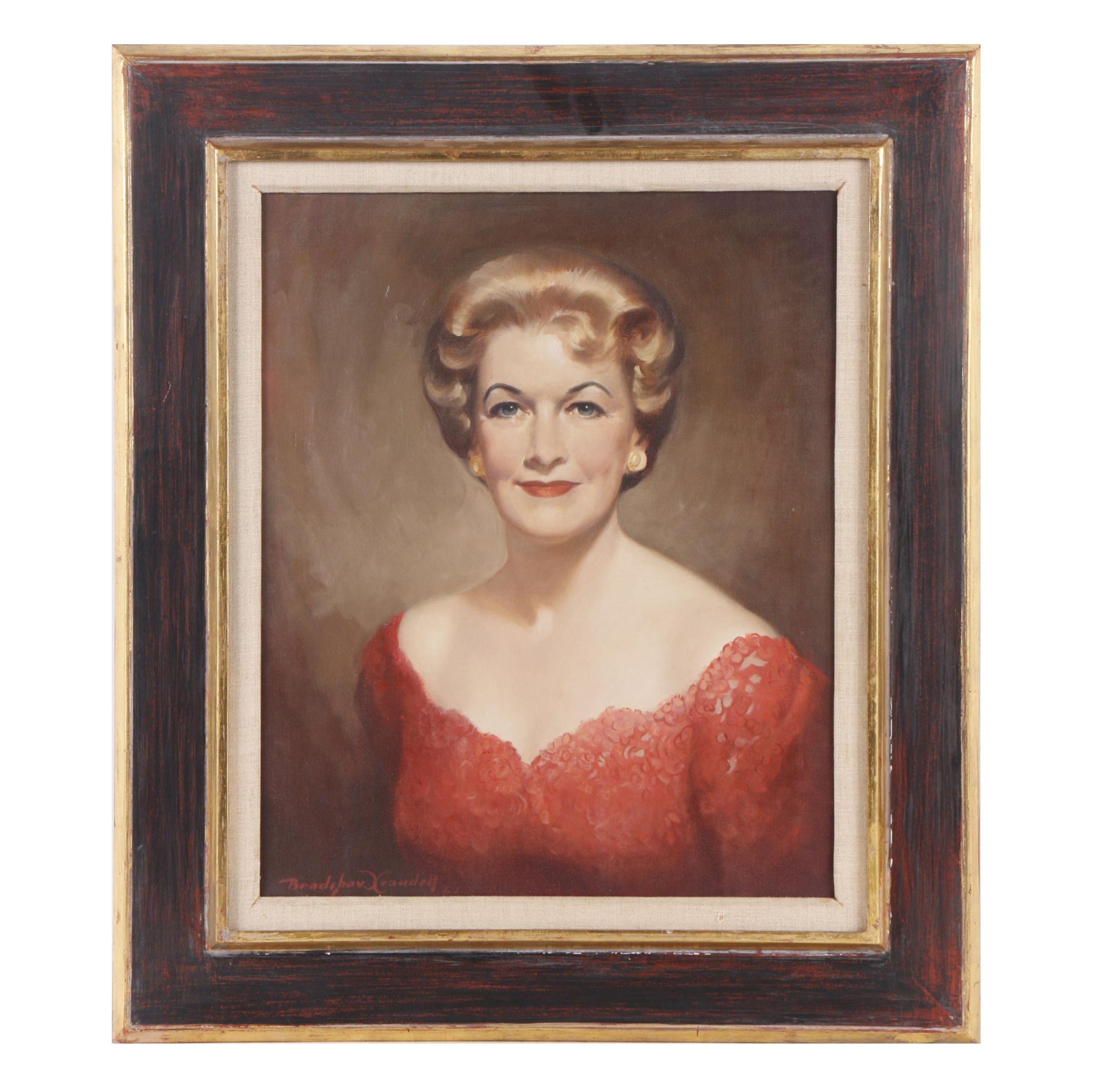 1961 Bradshaw Crandell Oil Painting