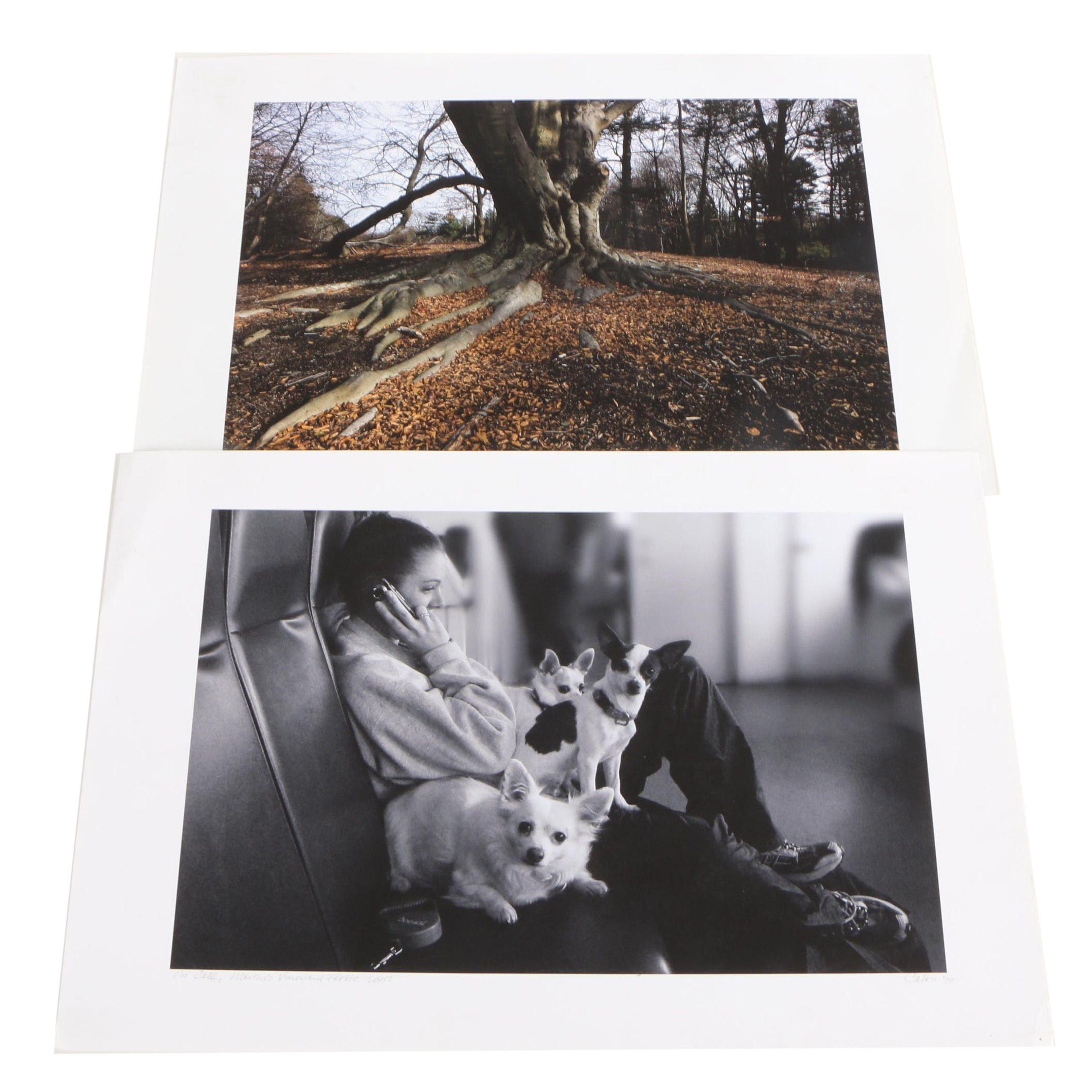 """Digital Photographs Including Richard Calvo """"On Call"""""""