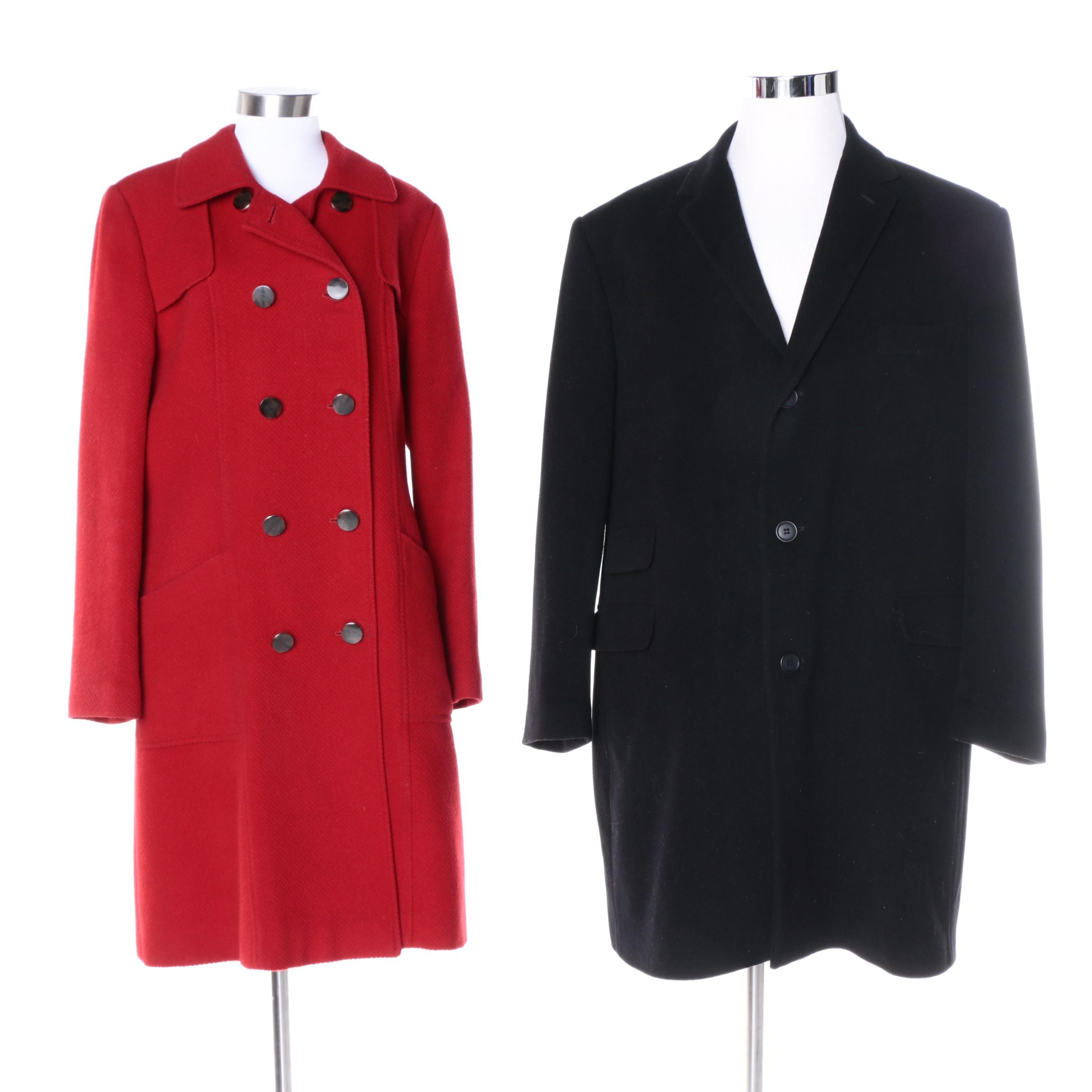 Women's & Men's Wool Blend Outerwear