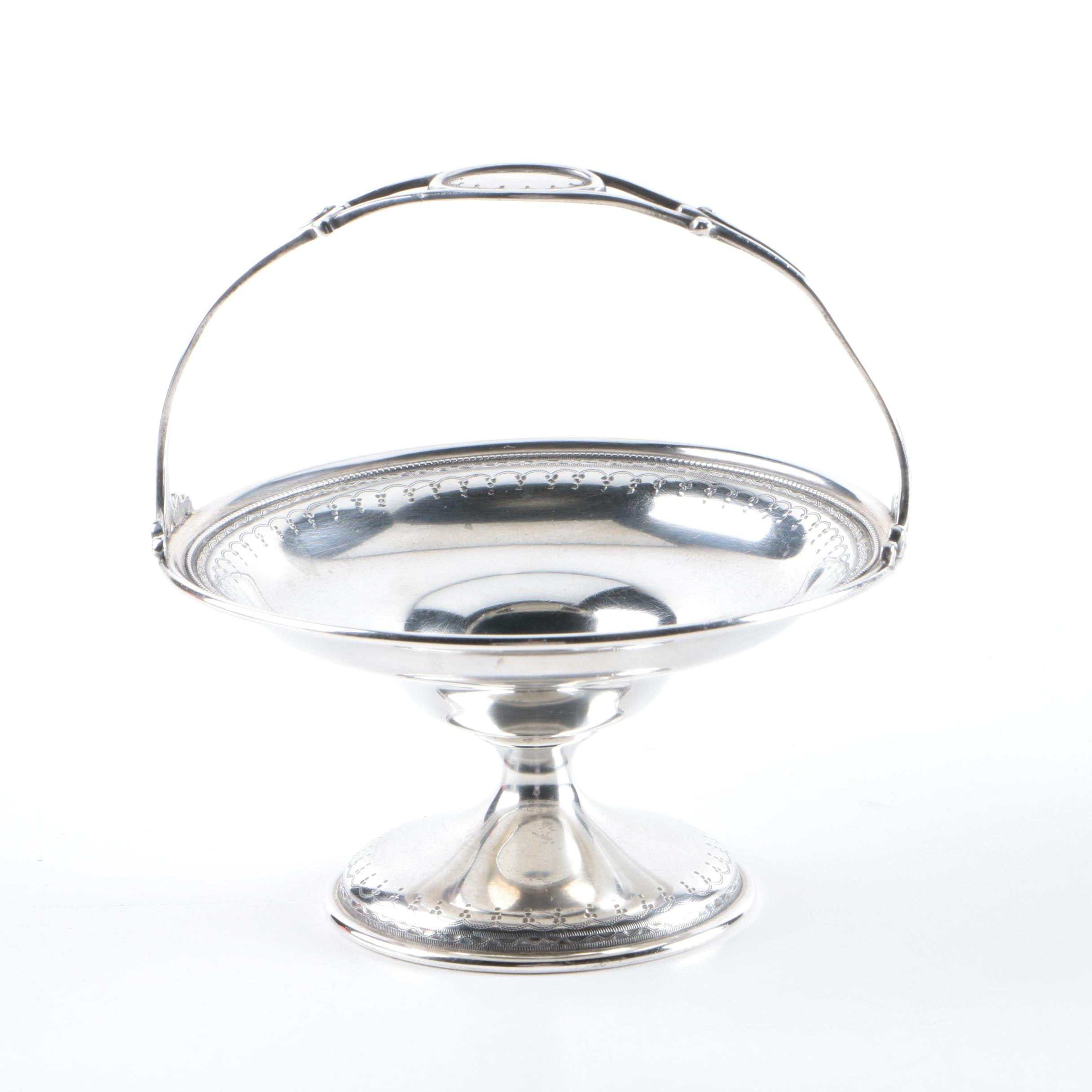 Wm. B. Durgin Co. Sterling Silver Footed Basket