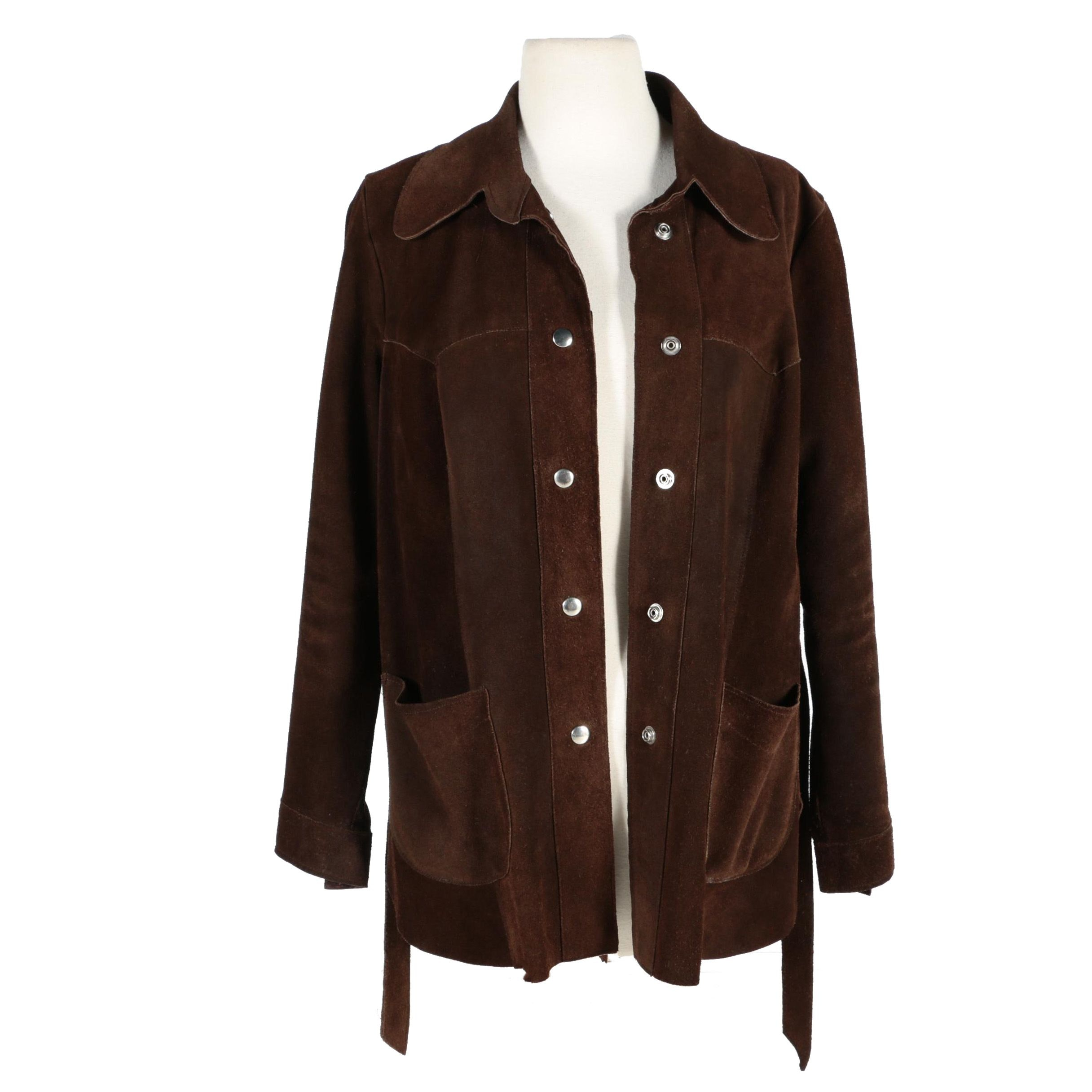 Women's Northampton Leather Co. Brown Suede Jacket