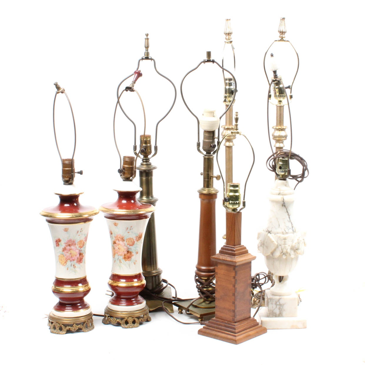 Vintage Table Lamp Collection
