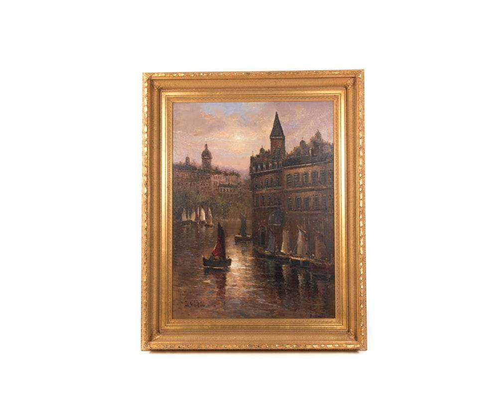 W. Eddie Oil Painting