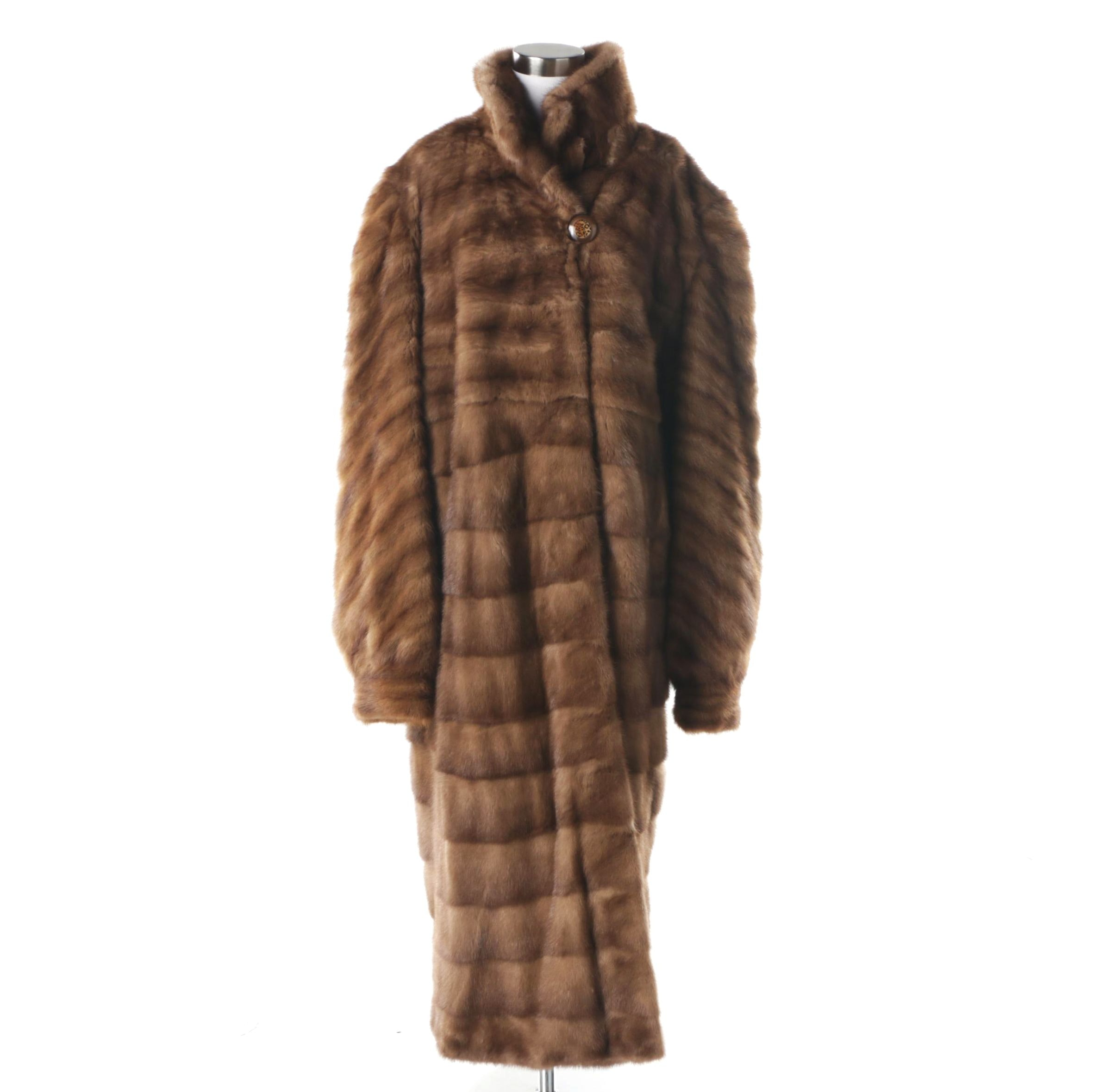 Scabal Mink Fur Coat