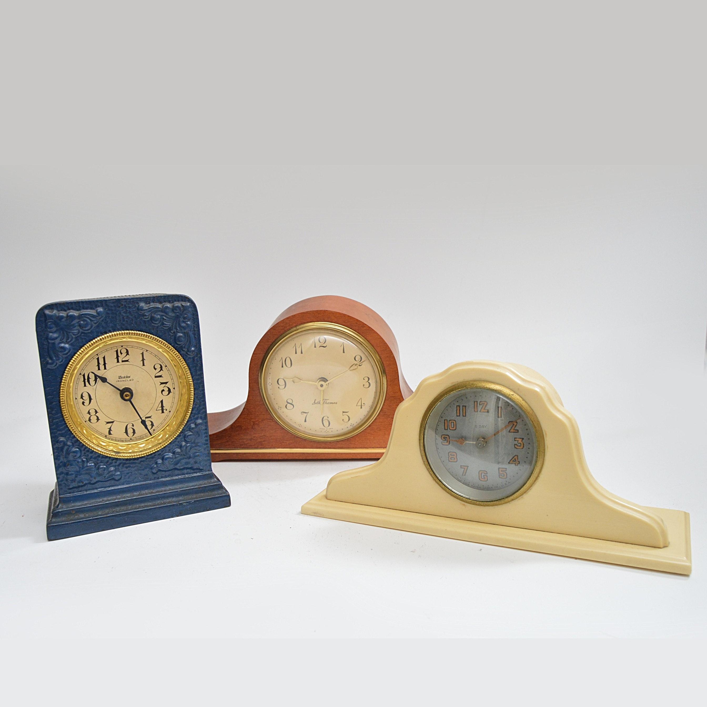 Vintage Desk Clocks