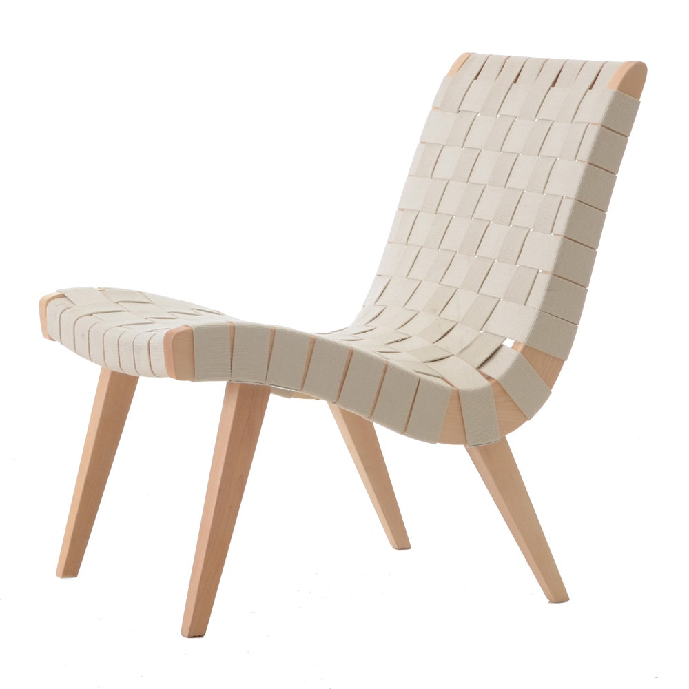 Jens Risom Style Lounge Chair