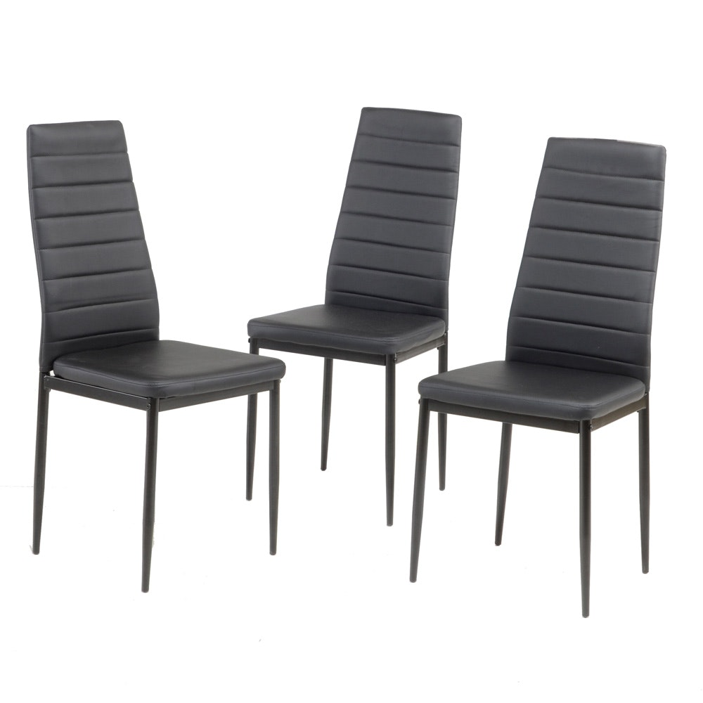 Set of Modernist Side Chairs