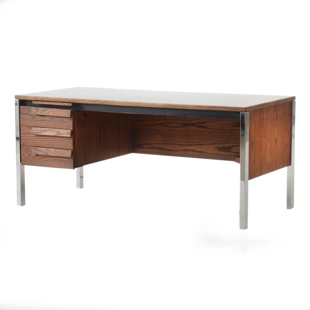 Vintage Mid Century Modern Jens Risom Desk