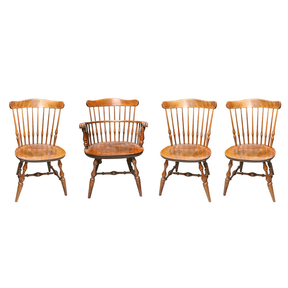 Set of Dining Chairs by Nichols & Stone