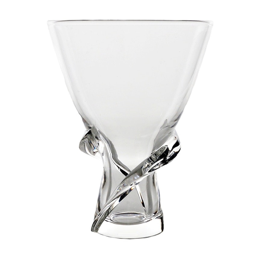 Steuben Glass Vase Ebth
