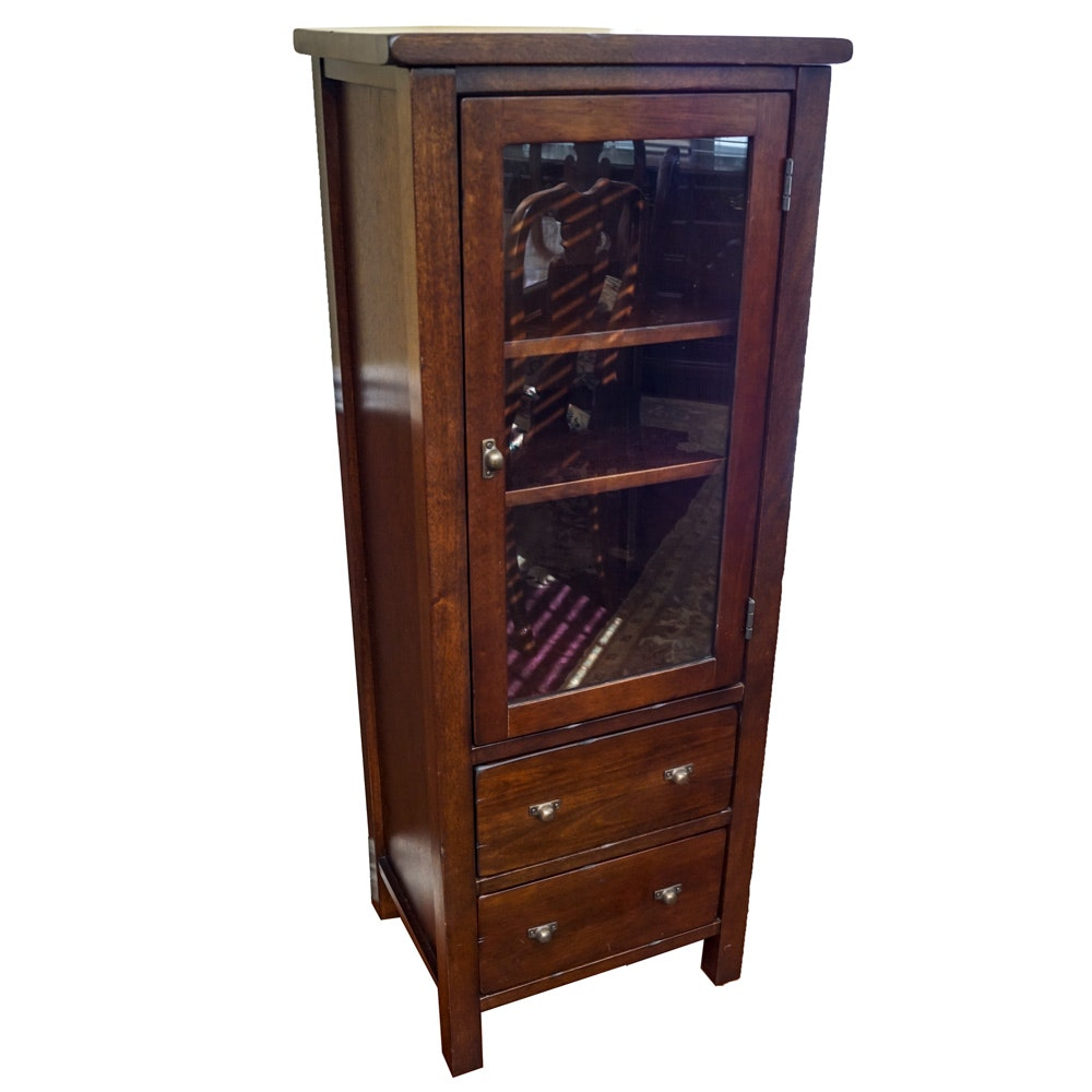 Curio Cabinet by Pottery Barn