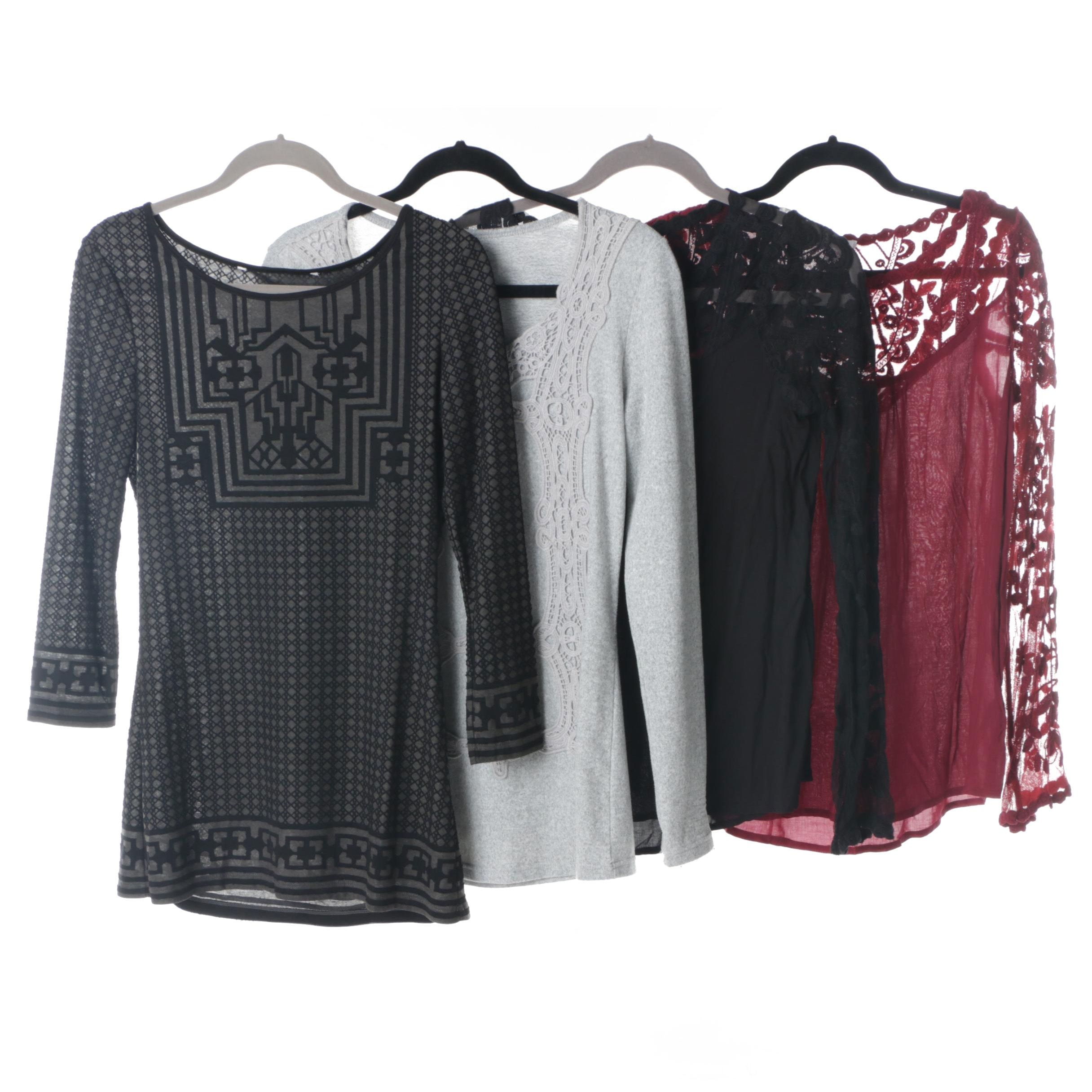 Women's Tops Including V Cristina