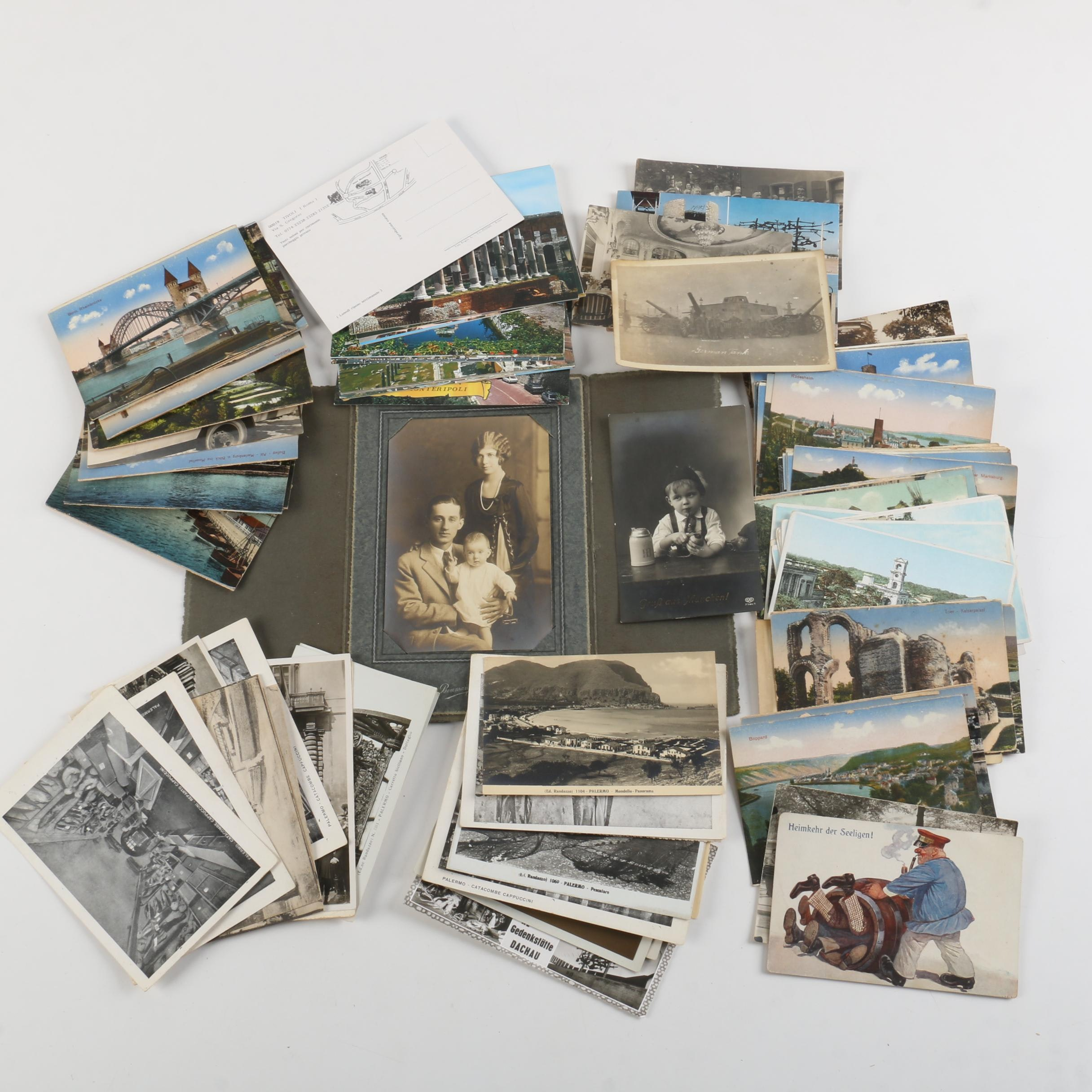 Generous Assortment of Photographs and Postcards