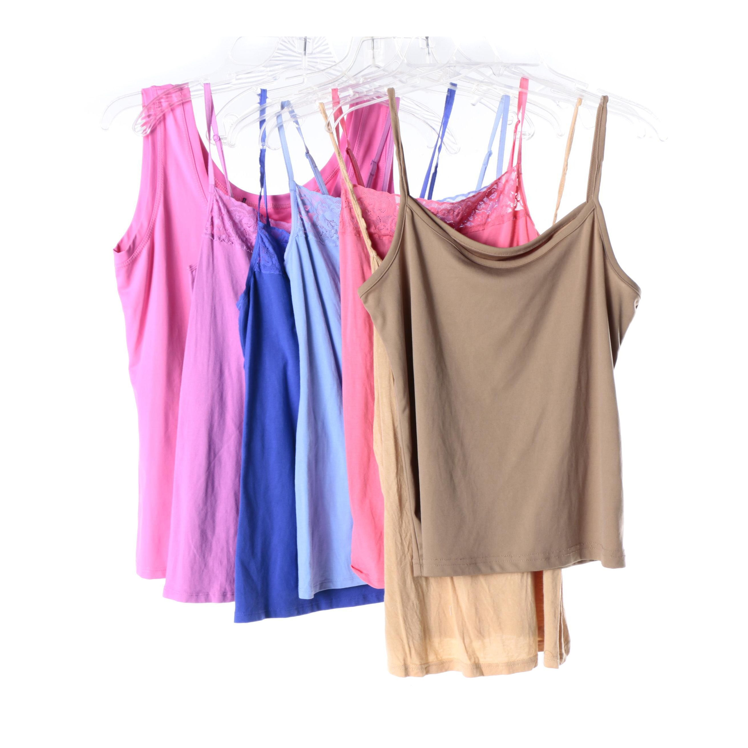 Women's Camisoles and Tank Tops Including Felina