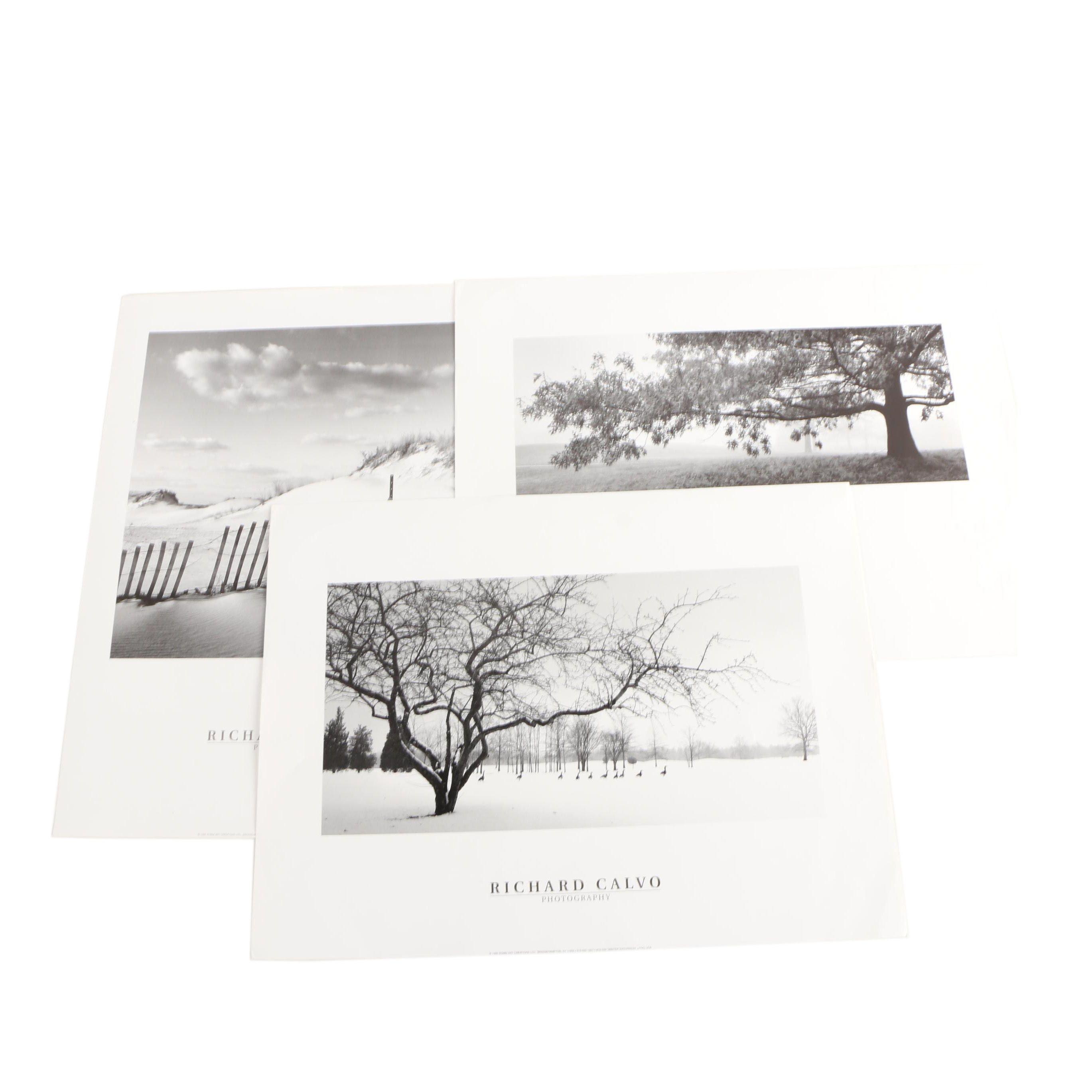 Offset Lithographs After Richard Calvo Photographs