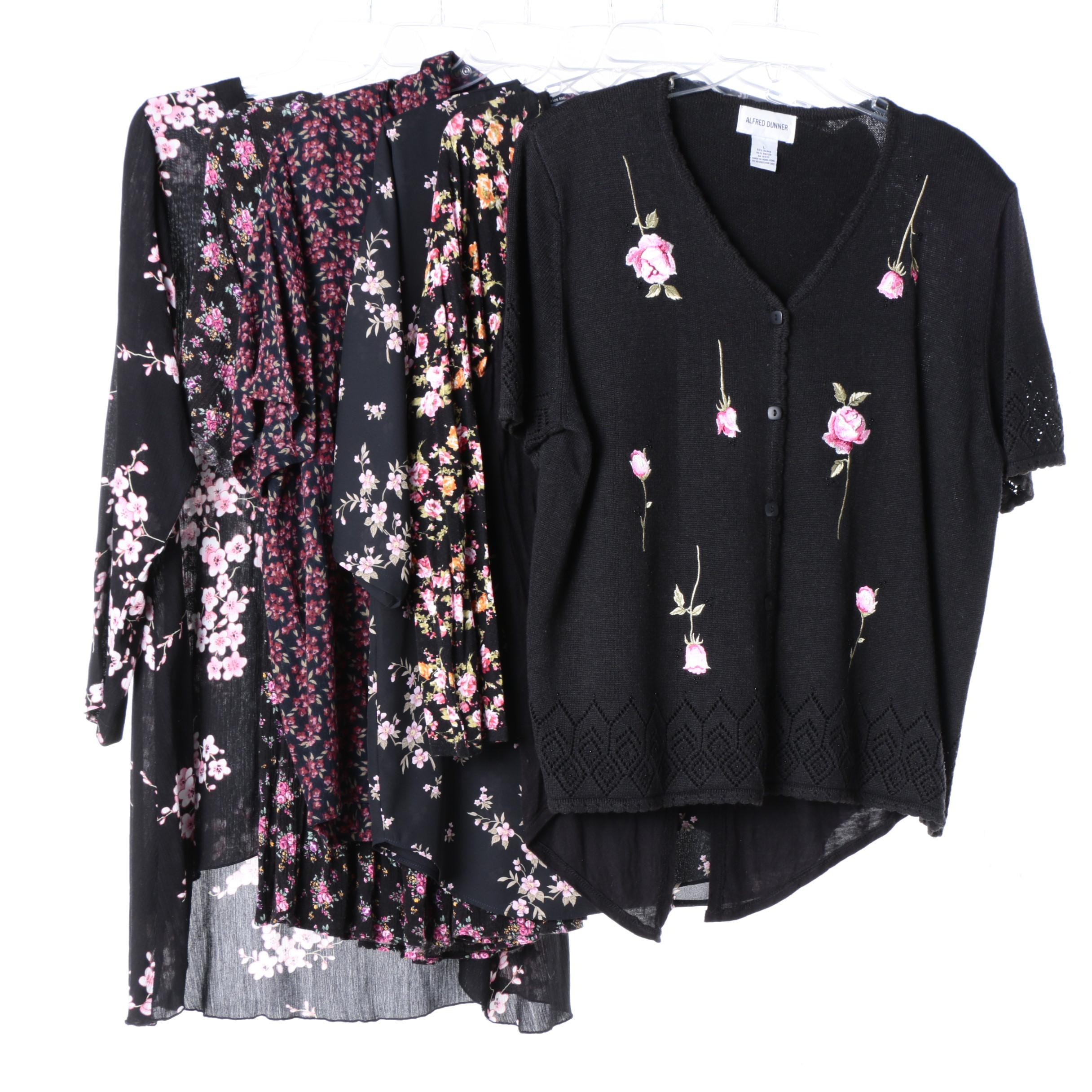 Floral Tops Including Serendipity