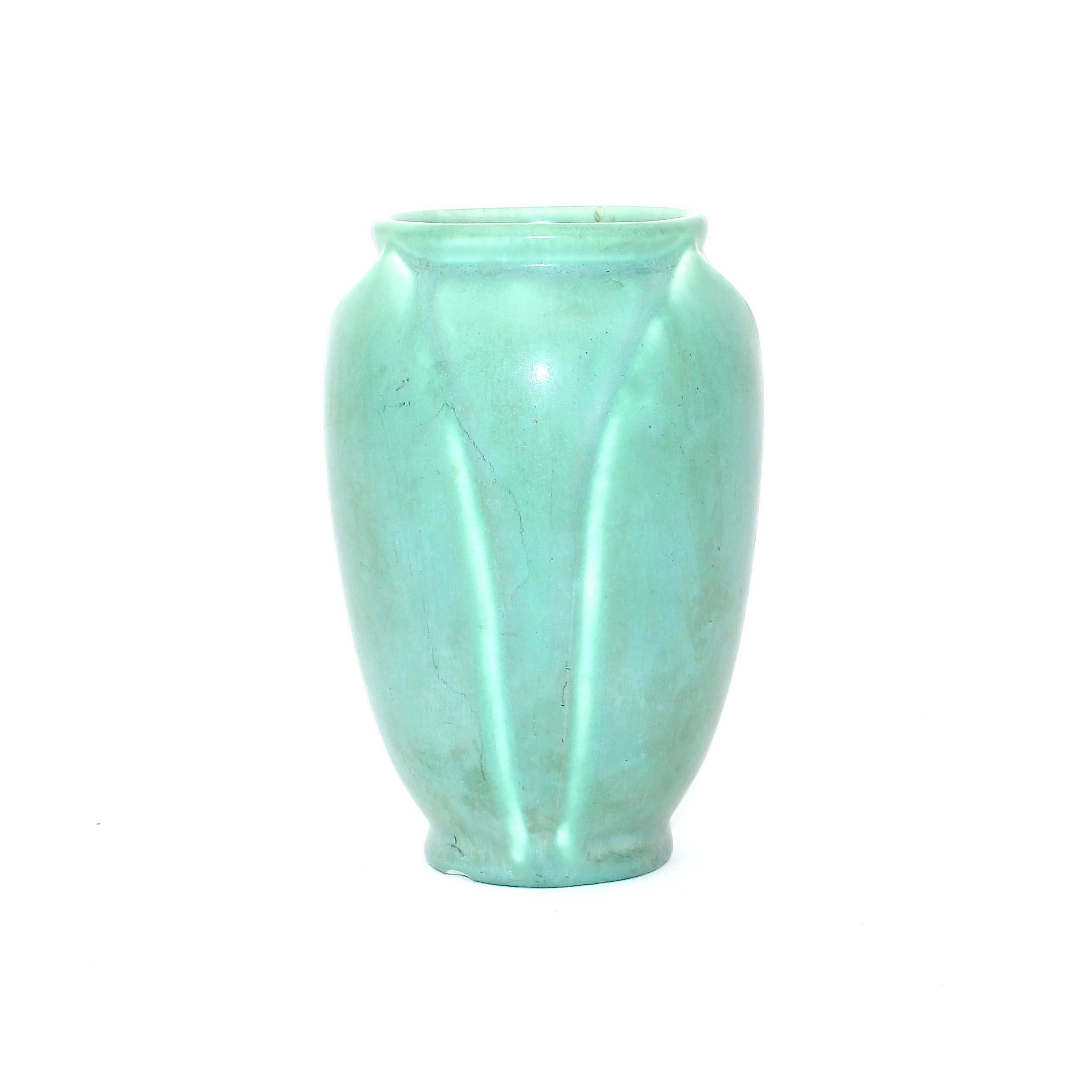 Rookwood Pottery Green Ceramic Bud Vase