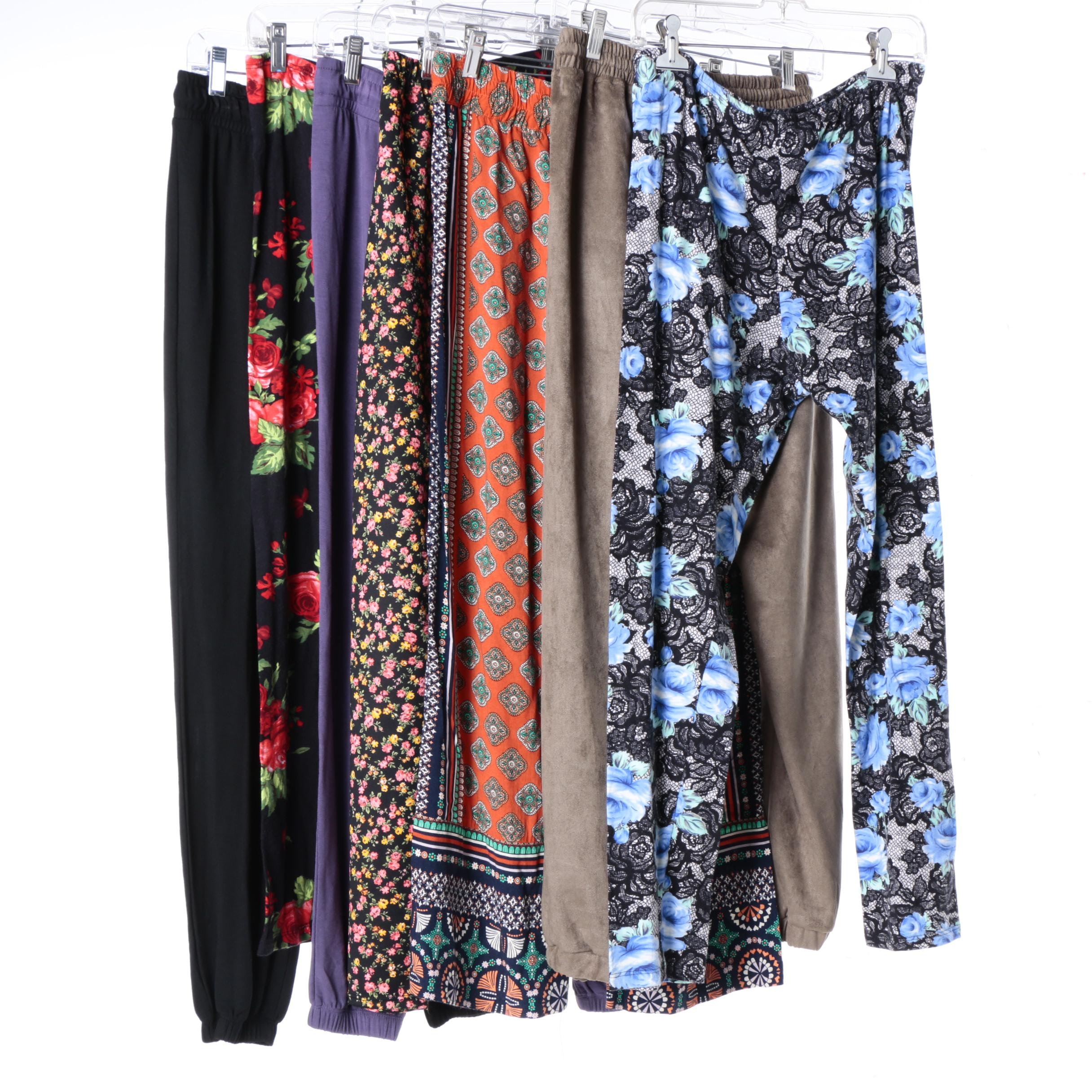 Women's Relaxed and Sleepwear Casual Pants