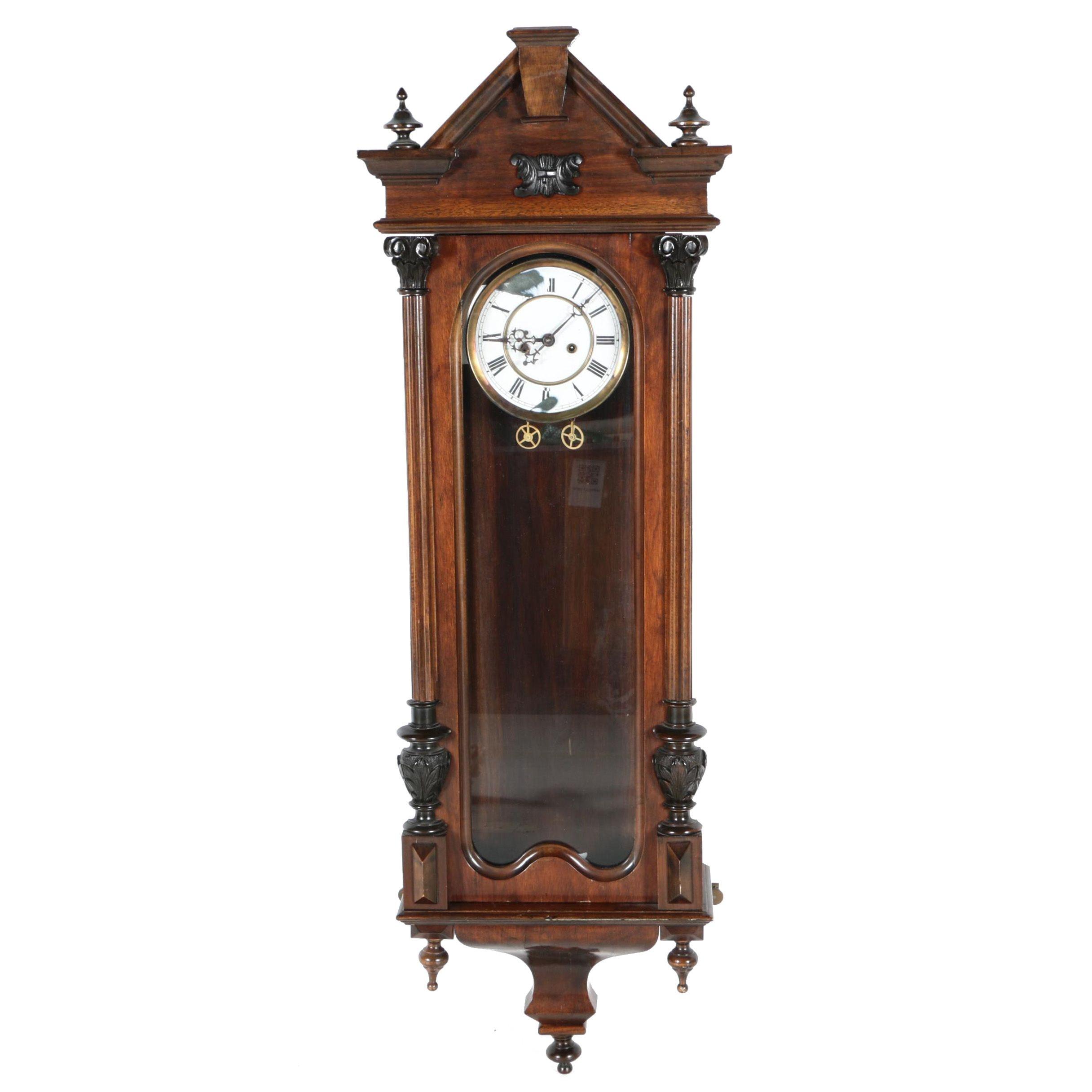 Viennese Regulator Wall Clock