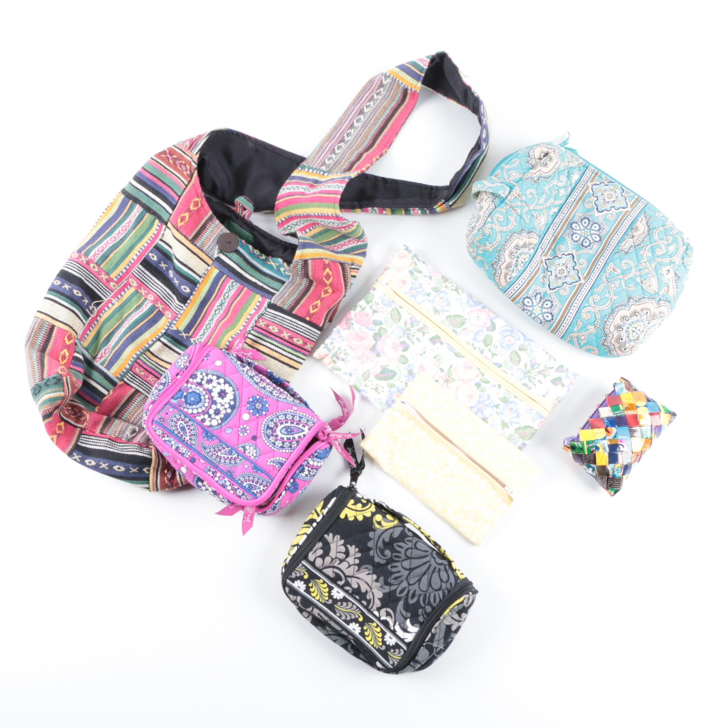 Cloth and Quilted Bags Including Kathmandu and Vera Bradley