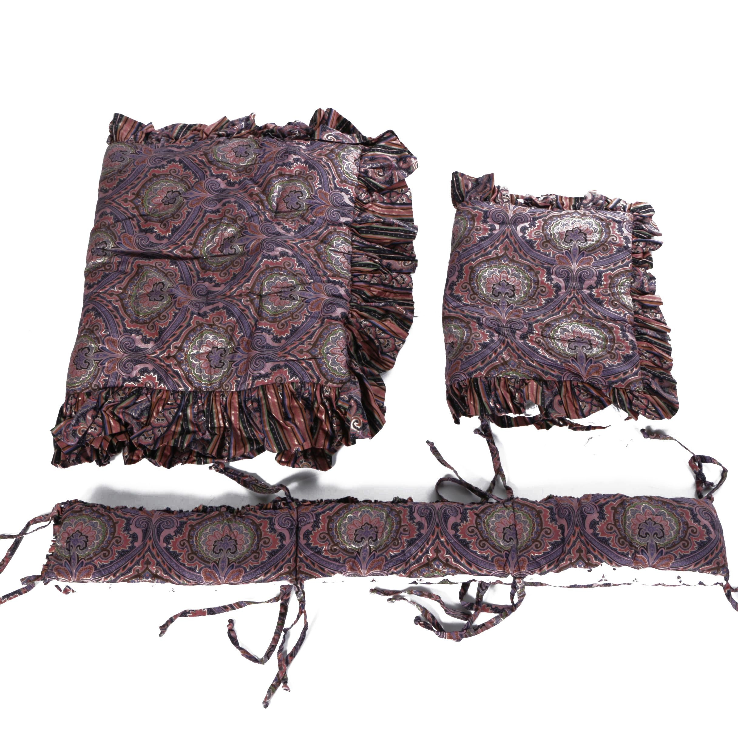 Paisley Patterned Bedding