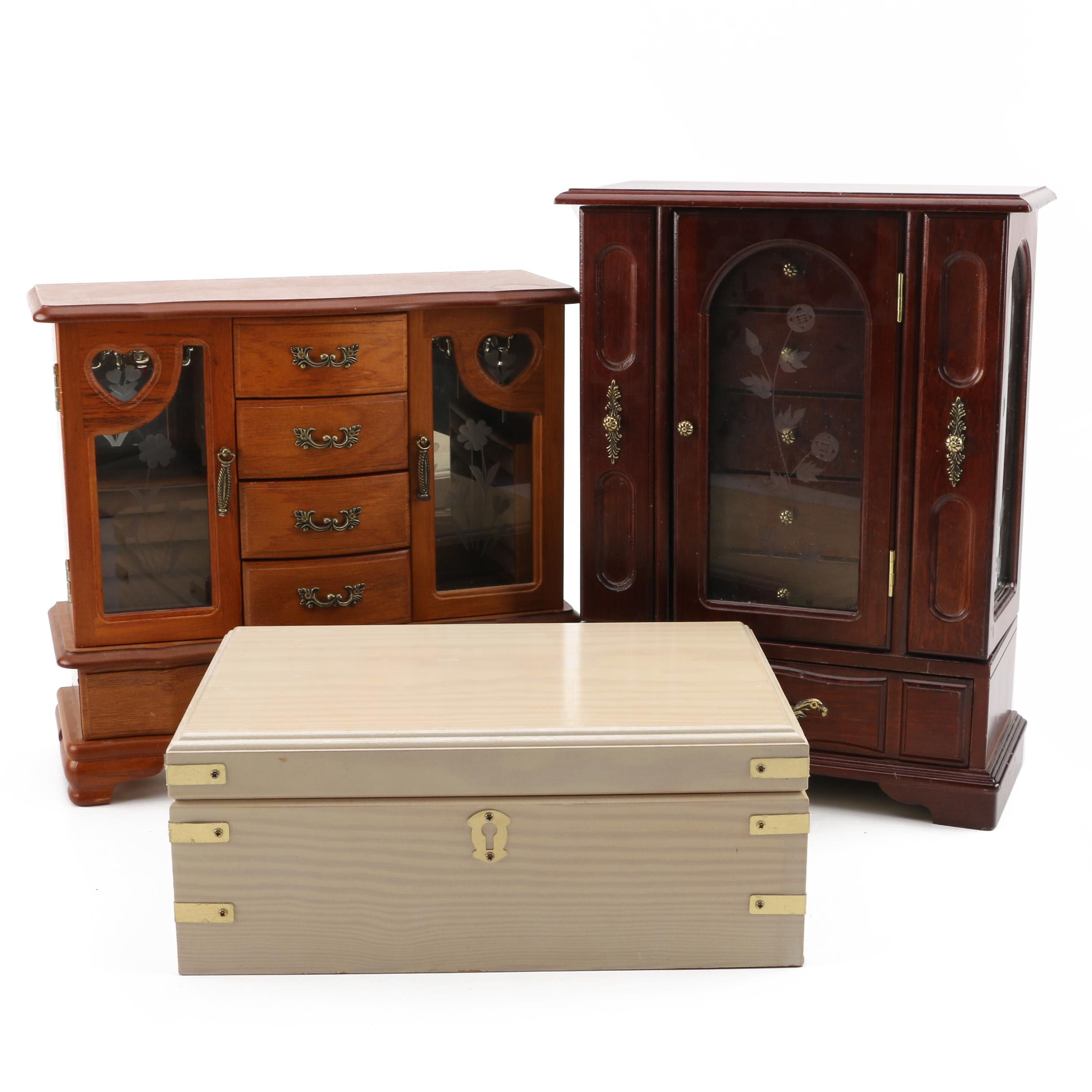 Group of Jewelry Boxes